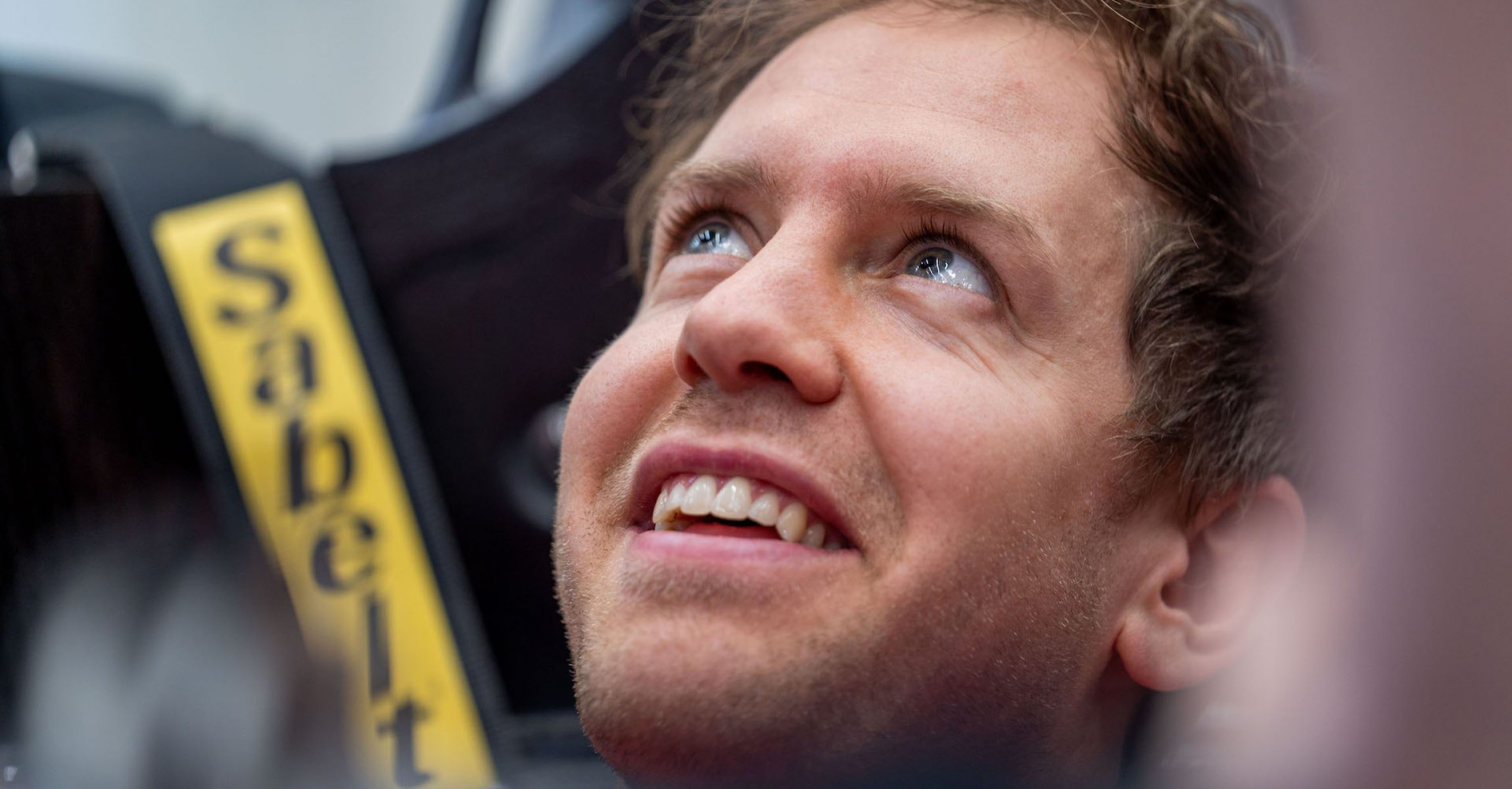 Sebastian Vettel, Ferrari, 2020 seat fit