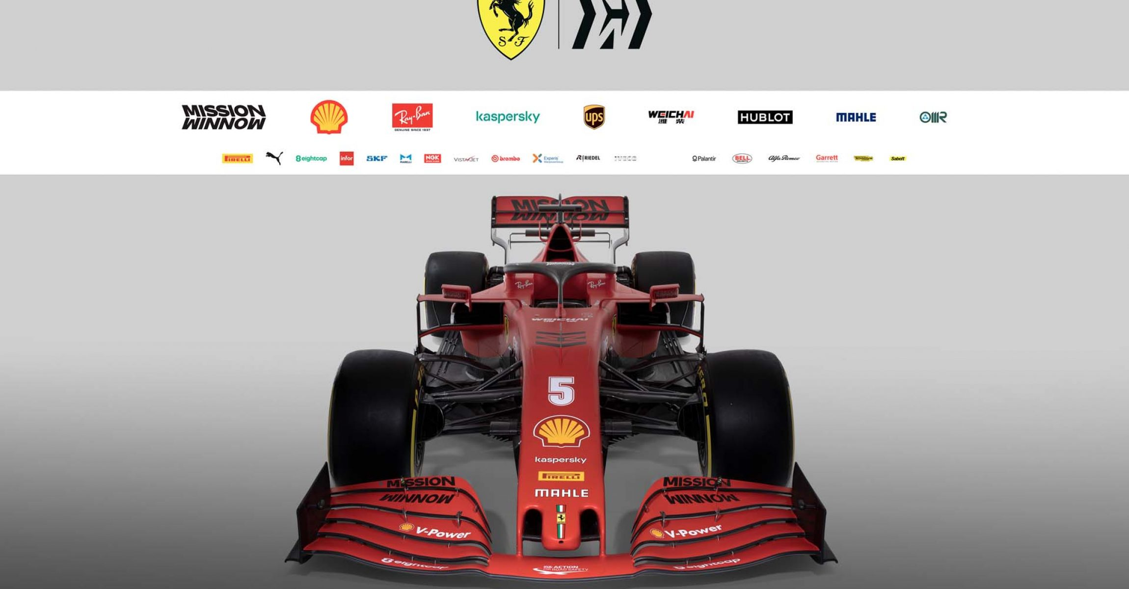 Ferrari SF1000 launch studio image