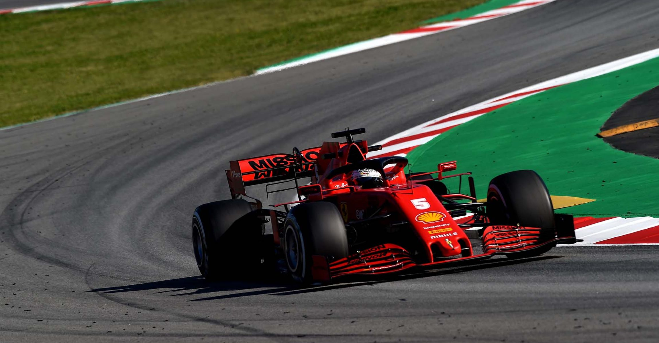 TEST T1 BARCELLONA - GIOVEDì 20/02/20 - SEBASTIAN VETTEL Ferrari