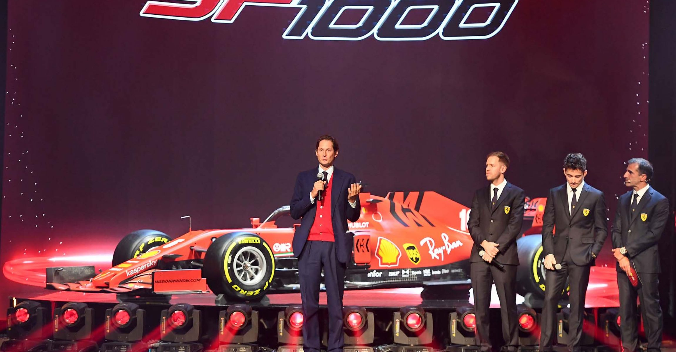 REGGIO EMILIA (ITALY) 11/02/2020 - PRESENTAZIONE FERRARI SF1000 -  credit: © Scuderia Ferrari Press Office Ferrari SF1000 launch