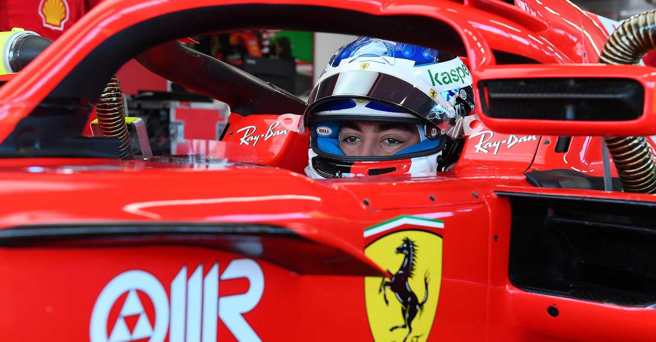 FDA TEST FIORANO - LUNEDì 25/01/21 - GIULIANO ALESI  credit: @Scuderia Ferrari Press Office