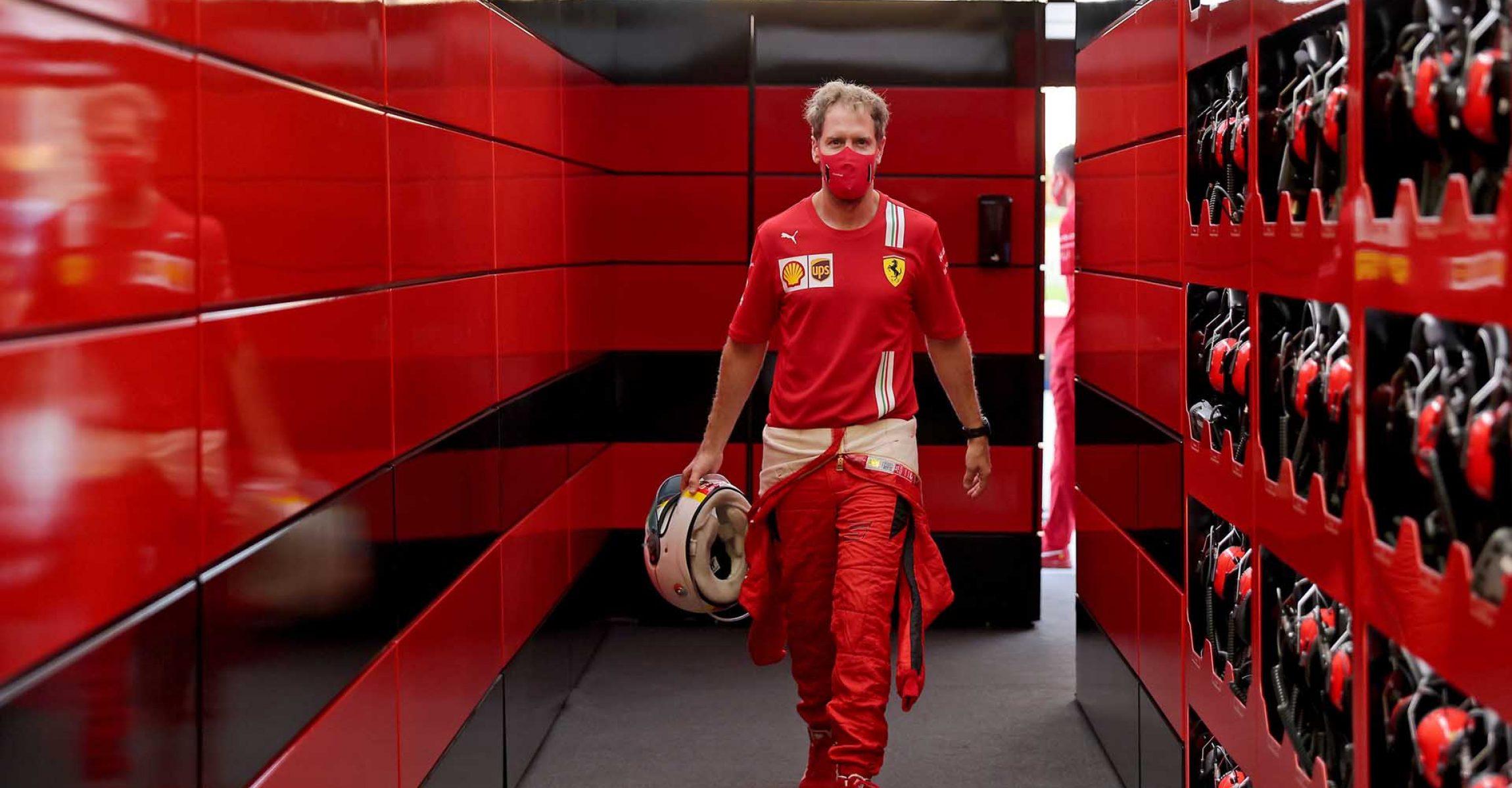 GP SAKHIR  F1/2020 - GIOVEDÌ 03/12/2020      credit: @Scuderia Ferrari Press Office Sebastian Vettel