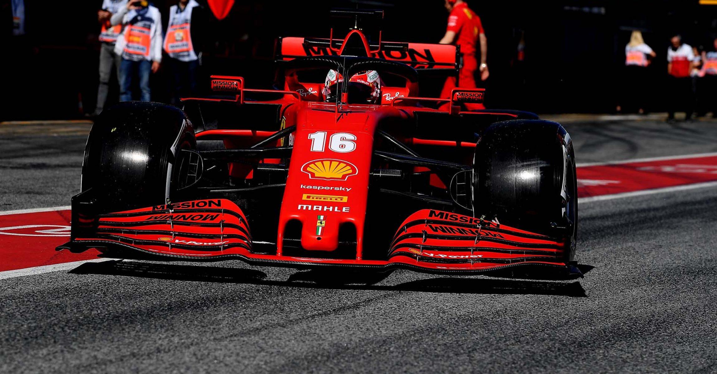 TEST T2 BARCELLONA 2020 - MERCOLEDÌ  26/02/2020 Charles Leclerc Ferrari