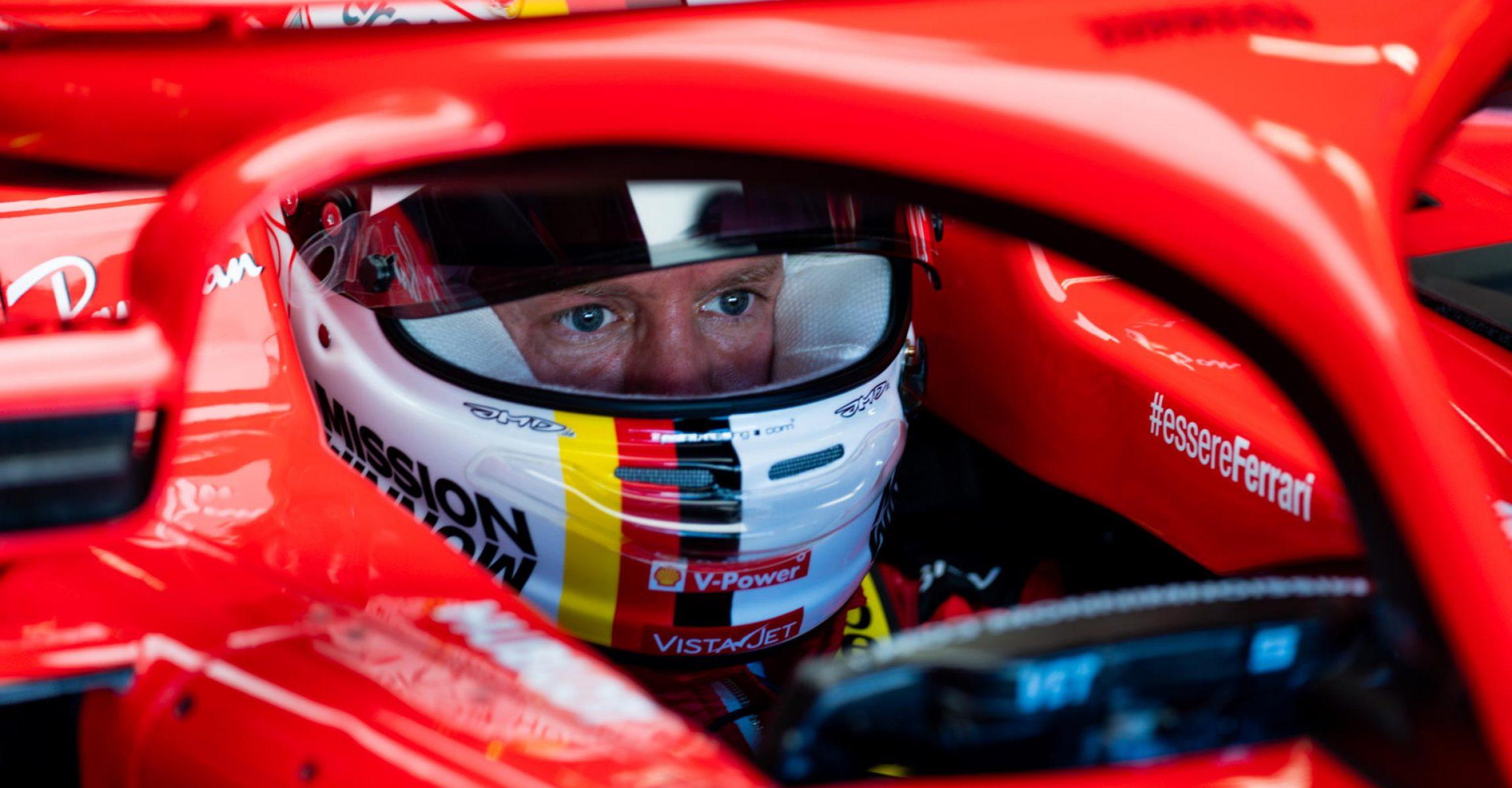 Sebastian Vettel Ferrai