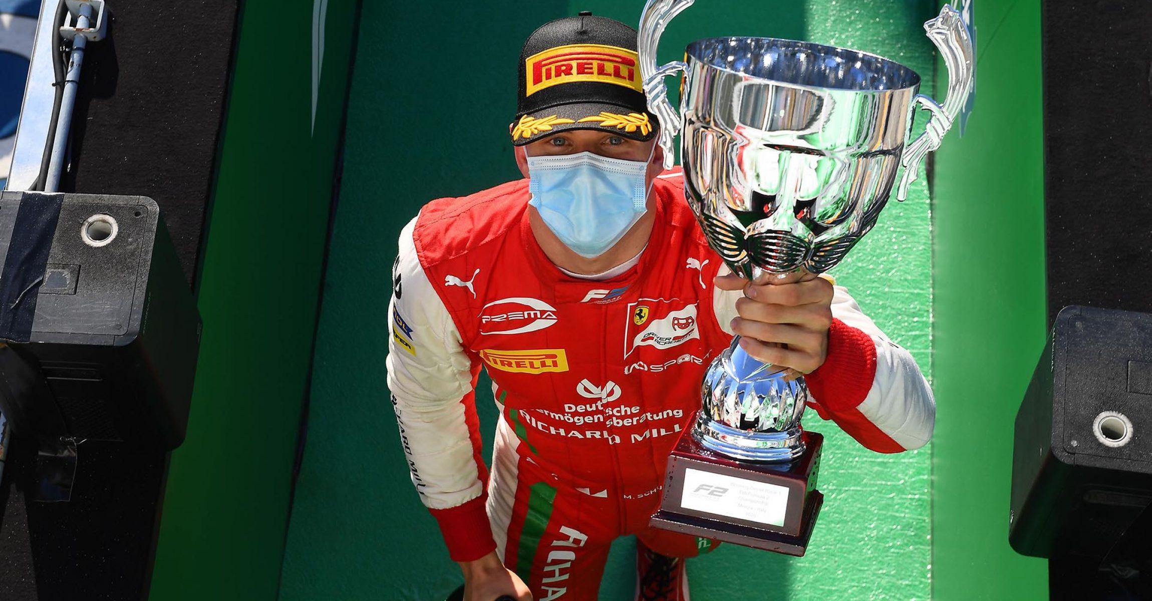 GP ITALIA F1/2020 -  FDA -  SABATO 05/09/2020      credit: @Scuderia Ferrari Press Office Mick Schumacher