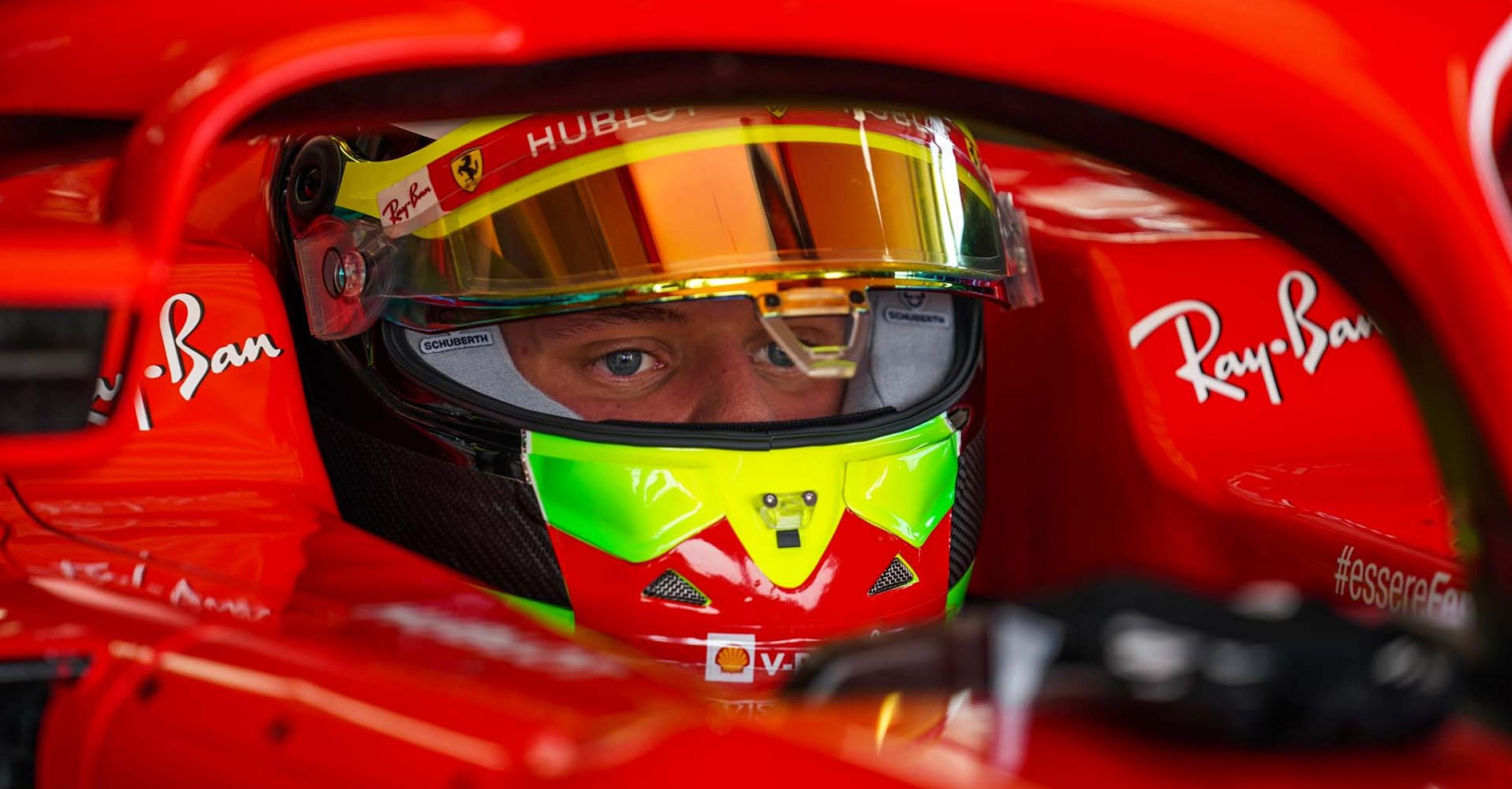Mick Schumacher, Ferrari, Fiorano, Test, 2020 September