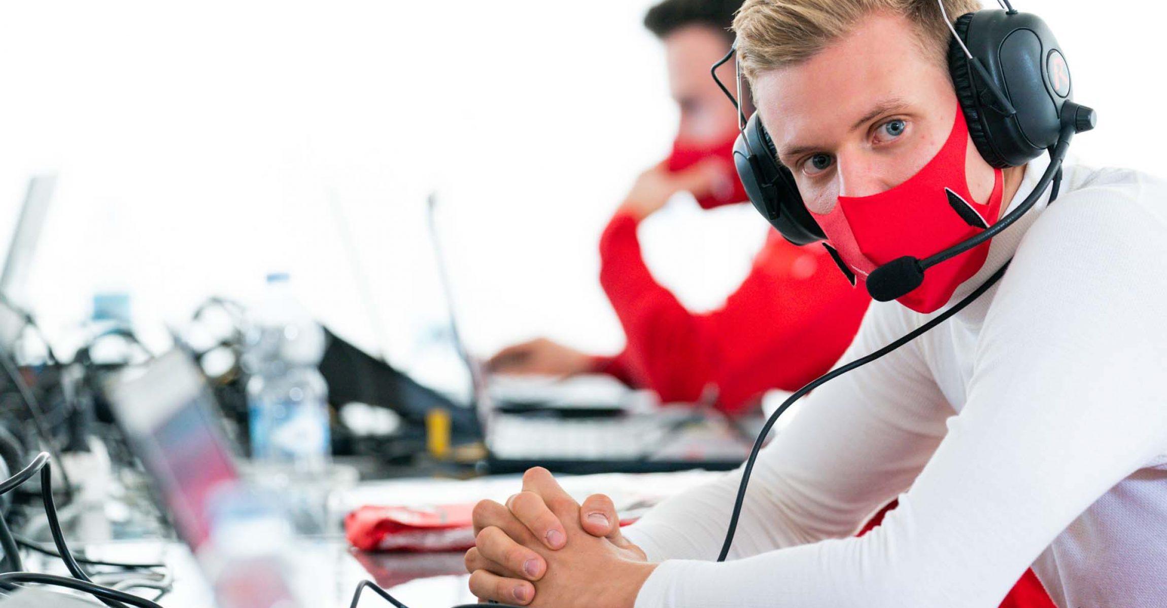 Mick Schumacher, Ferrari, Fiorano, test