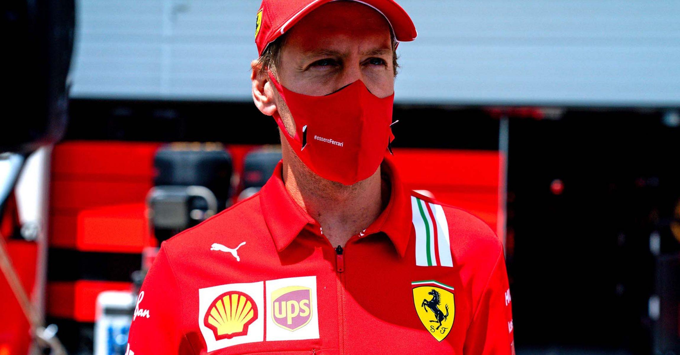 GP STYRIA F1/2020 -  DOMENICA 12/07/2020         credit: @Scuderia Ferrari Press Office Sebastian Vettel