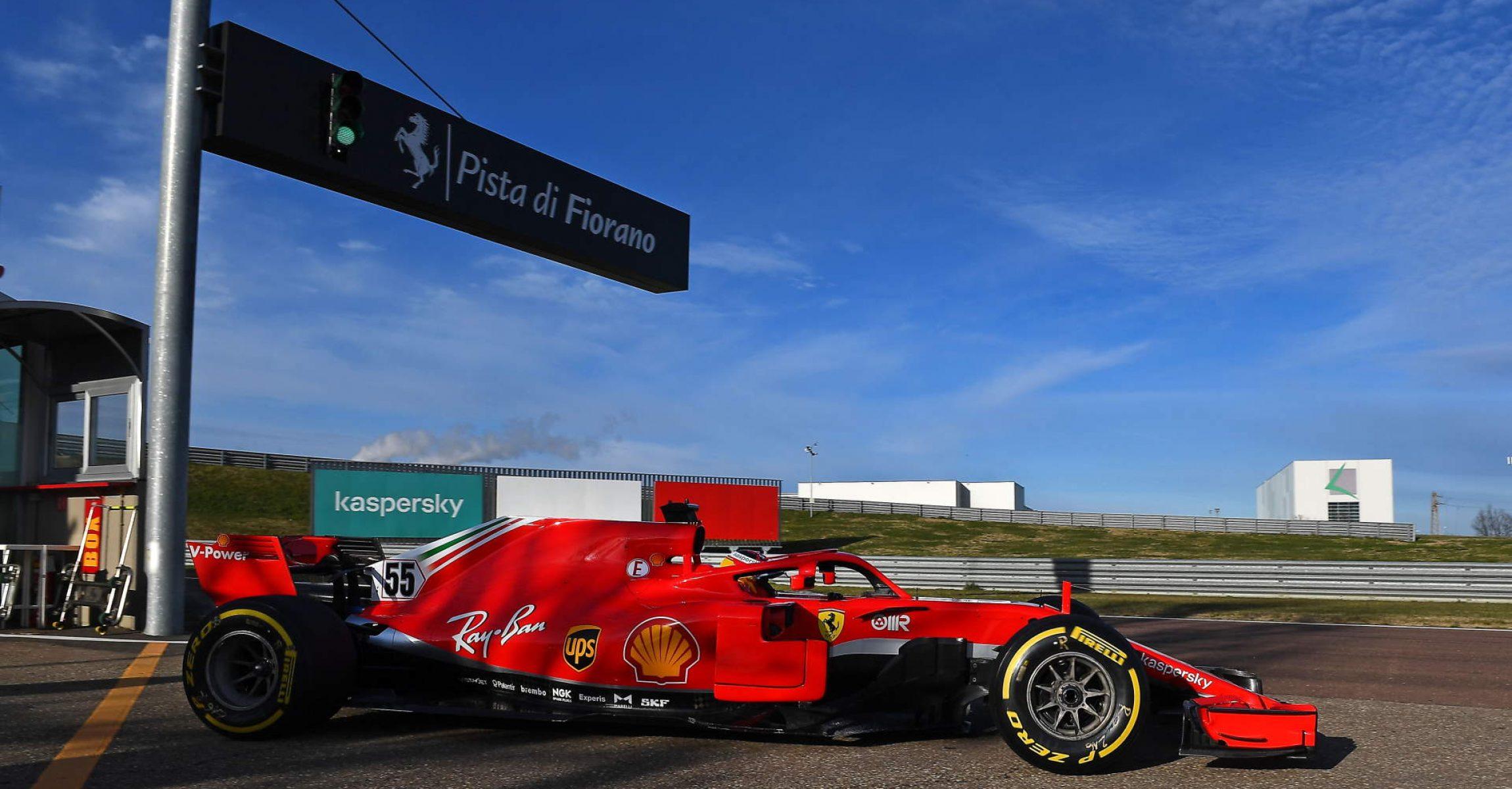 FERRARI F1 TEST FIORANO - MERCOLEDI 27/01/2021 credit: @Scuderia Ferrari Press Office Carlos Sainz