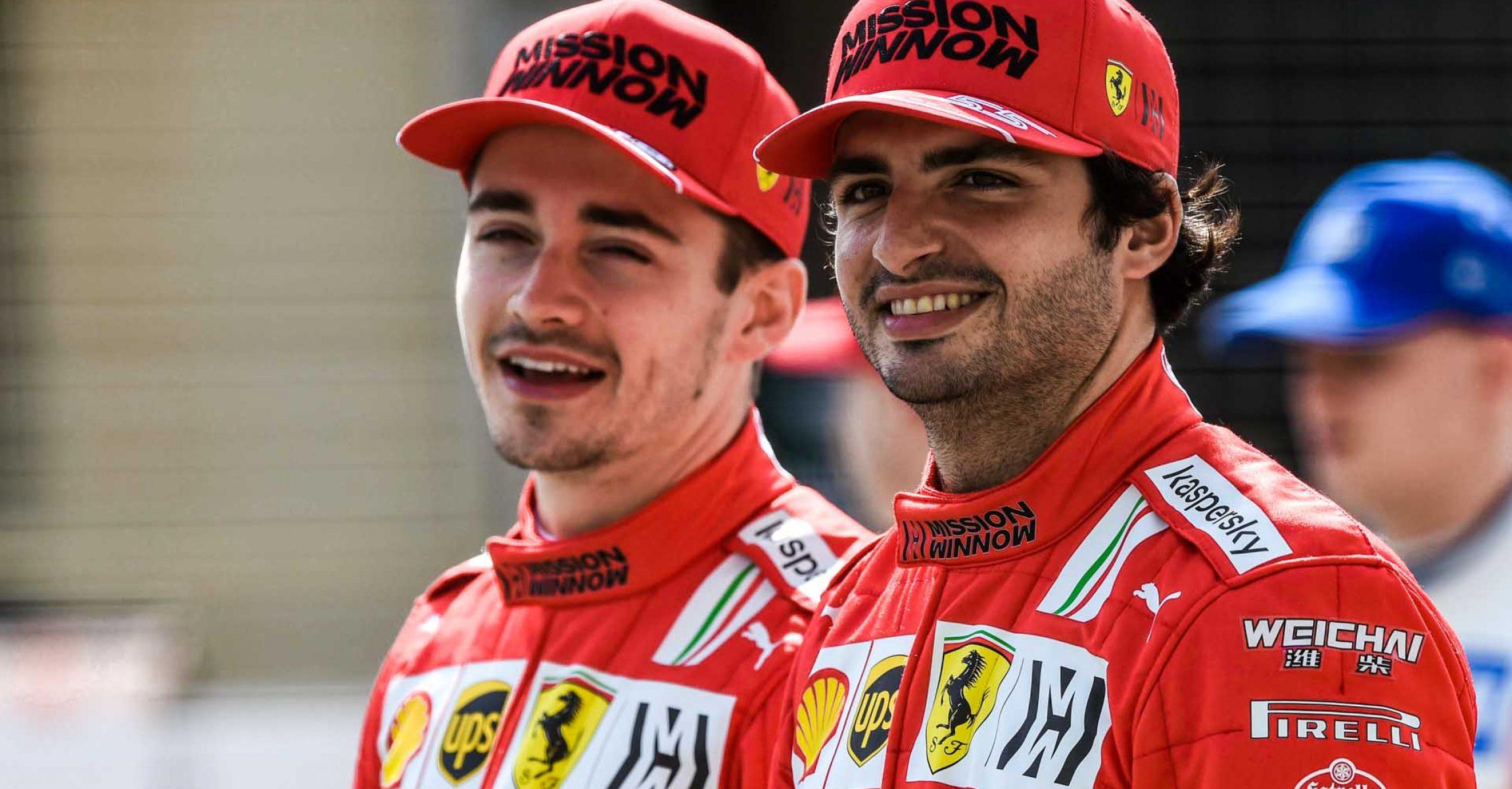 FERRARI F1 TEST BAHRAIN - VENERDI 12/03/2021  credit: @Scuderia Ferrari Press Office Charles Leclerc Carlos Sainz