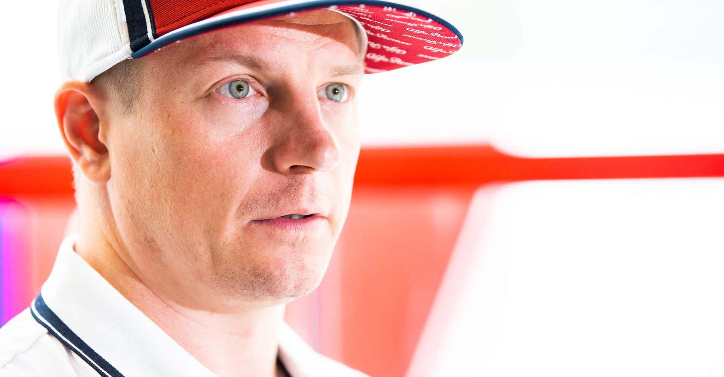 RAIKKONEN Kimi Räikkönen (fin), Alfa Romeo Racing C38, portrait during the 2019 Formula One World Championship, Brazil Grand Prix from November 15 to 17 in Sao Paulo, Brazil - Photo Antonin Vincent / DPPI
