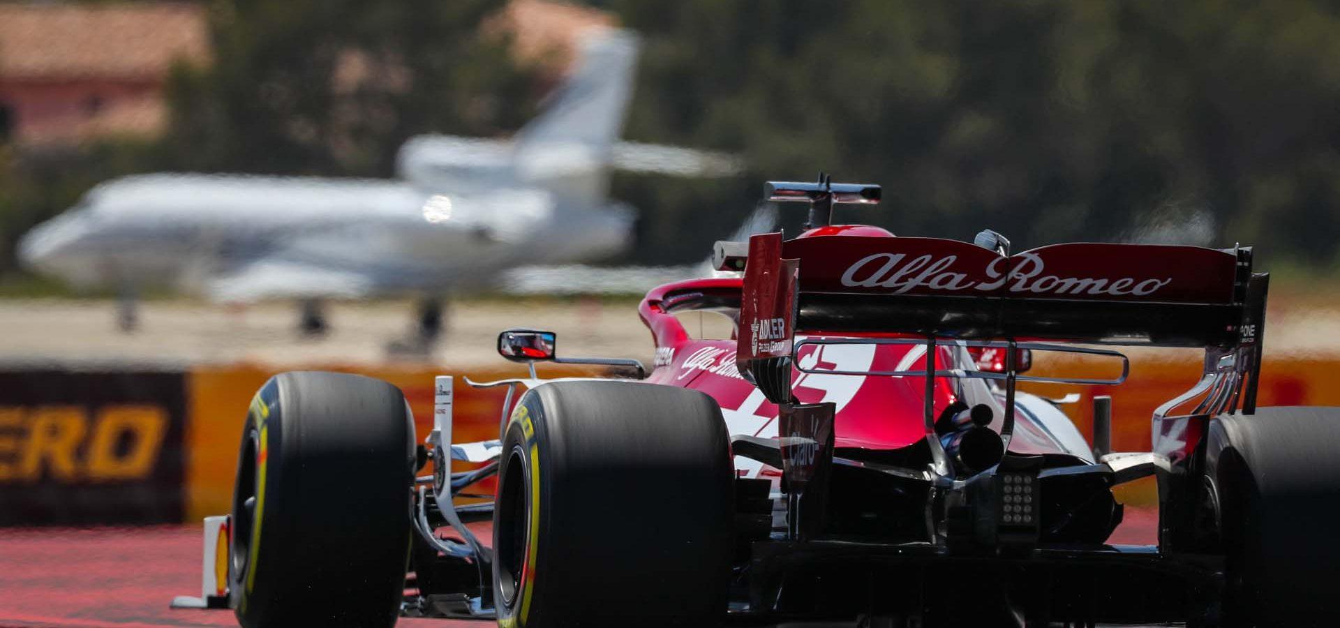 07 RAIKKONEN Kimi (fin), Alfa Romeo Racing C38, action during the 2019 Formula One World Championship, France Grand Prix  on june  20 to 23 at Le Castellet - Photo Antonin Vincent / DPPI Räikkönen