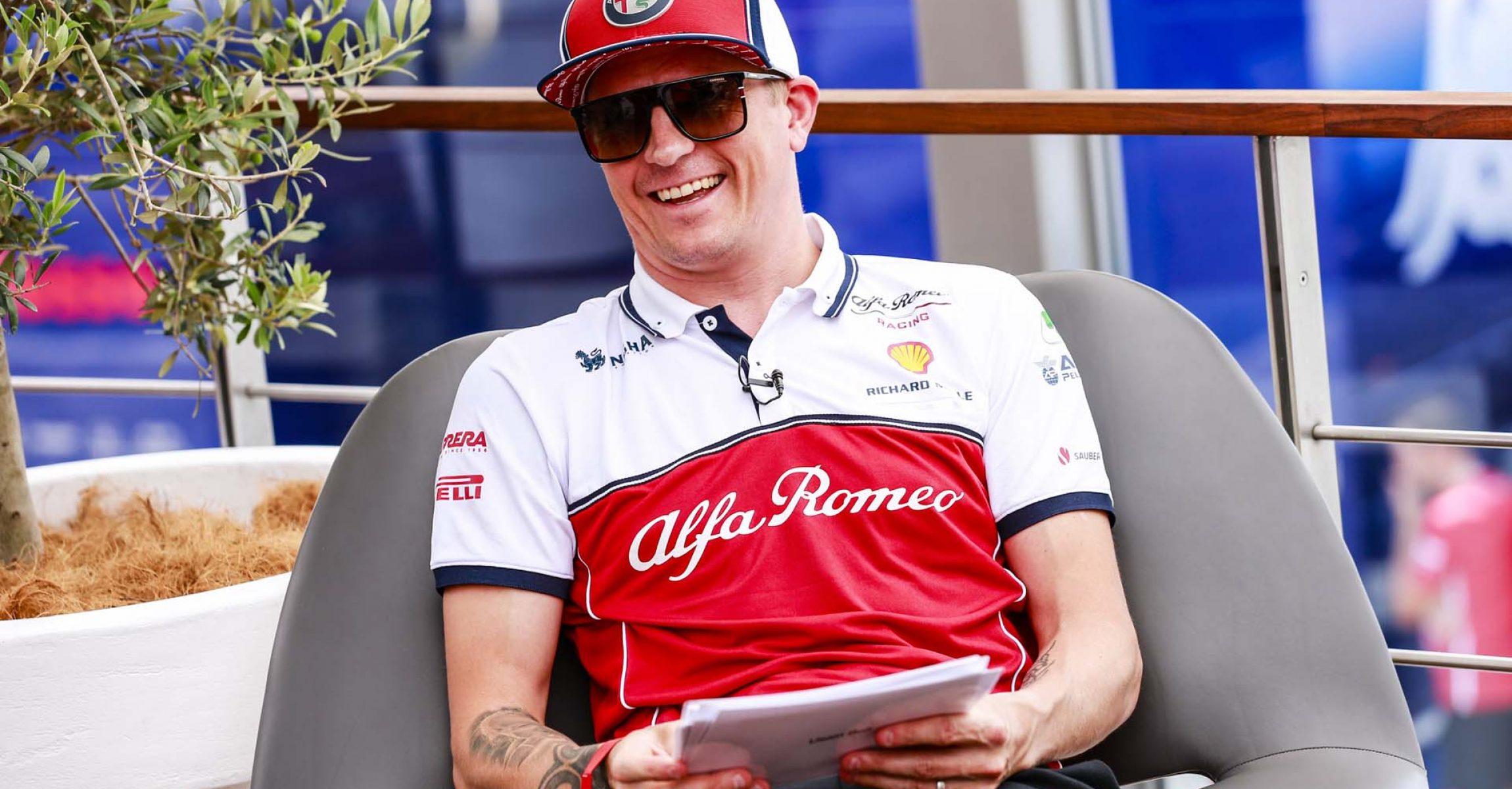 RAIKKONEN Kimi Räikkönen (fin), Alfa Romeo Racing C38, portrait during the 2019 Formula One World Championship, Germany Grand Prix from July 25 to 28, in Hockenheim, Germany - Photo Xavi Bonilla / DPPI
