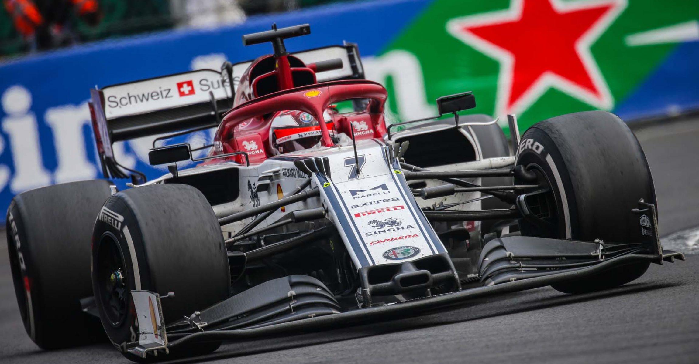 07 RAIKKONEN Kimi Räikkönen (fin), Alfa Romeo Racing C38, action during the 2019 Formula One World Championship, Mexico Grand Prix from october 24 to 27 in Mexico - Photo Francois Flamand / DPPI