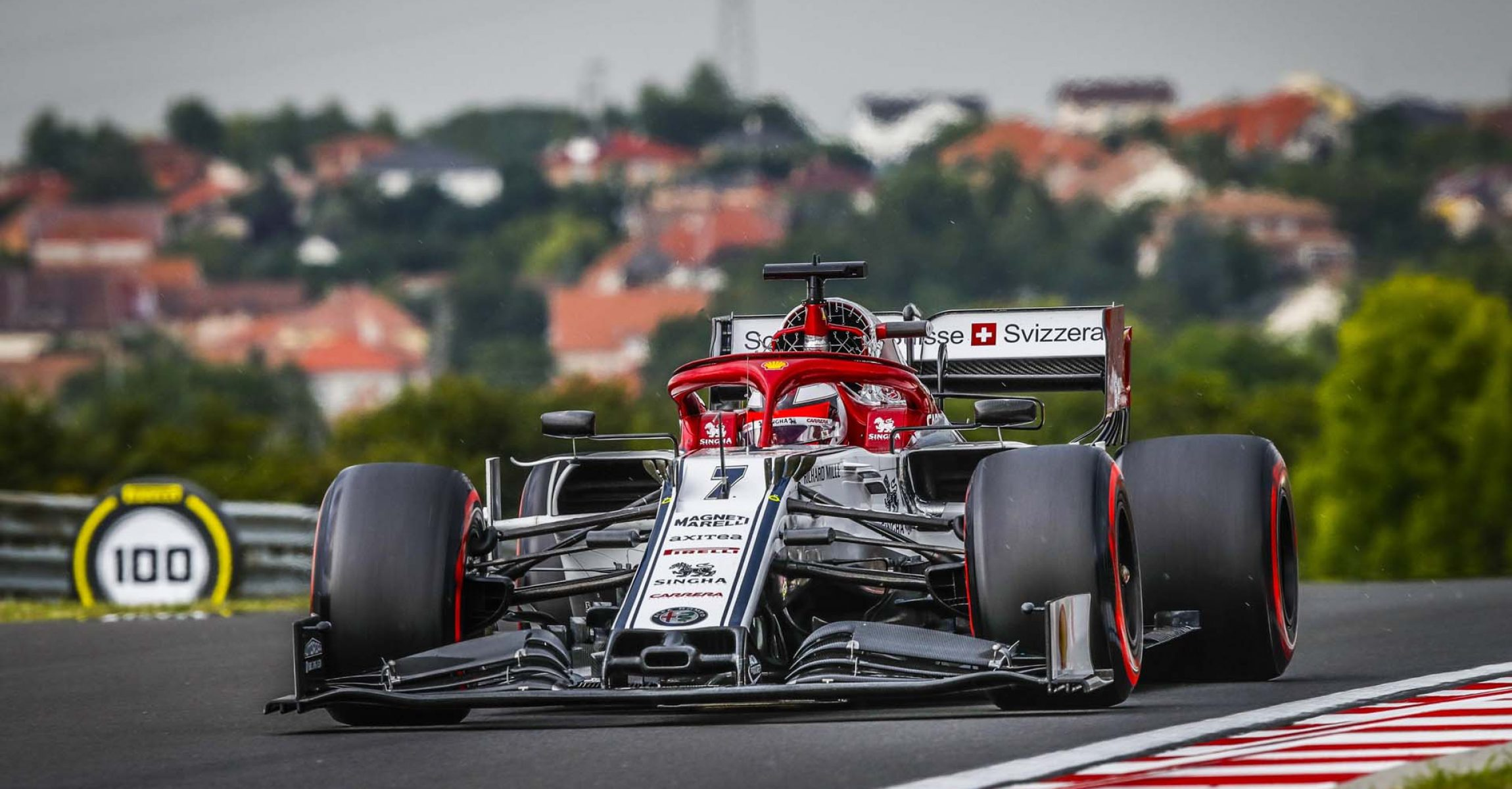 07 RAIKKONEN Kimi Räikkönen (fin), Alfa Romeo Racing C38, action during the 2019 Formula One World Championship, Grand Prix of Hungary from august 1 to 4, Hungaroring, Budapest - Photo Florent Gooden / DPPI