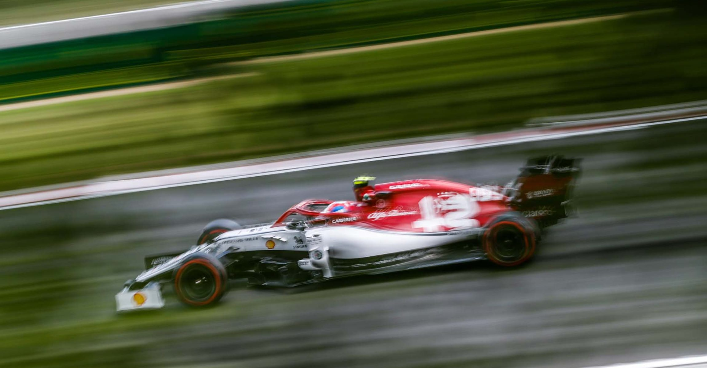99 GIOVINAZZI Antonio (ita), Alfa Romeo Racing C38, action during the 2019 Formula One World Championship, Grand Prix of Hungary from august 1 to 4, Hungaroring, Budapest - Photo Florent Gooden / DPPI
