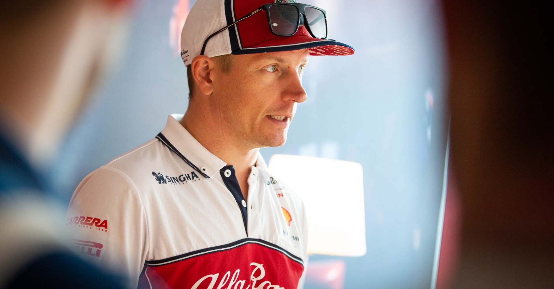 meet and greet with RAIKKONEN Kimi Räikkönen (fin), Alfa Romeo Racing C38, portrait during 2019 Formula 1 FIA world championship, Italy Grand Prix, at Monza from september 5 to 9  - Photo Antonin Vincent / DPPI