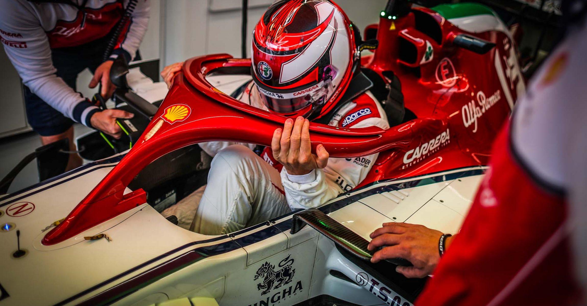 RAIKKONEN Kimi Räikkönen (fin), Alfa Romeo Racing C38, portrait during 2019 Formula 1 FIA world championship, Italy Grand Prix, at Monza from september 5 to 9  - Photo Antonin Vincent / DPPI