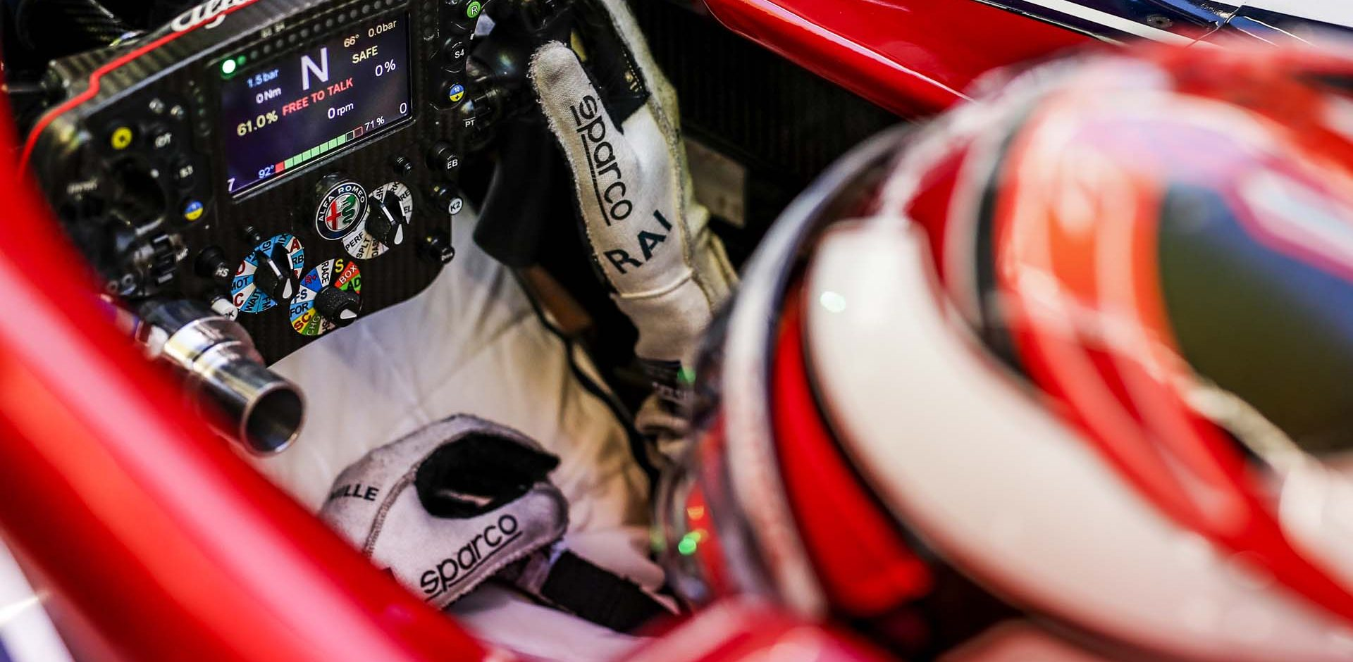 RAIKKONEN Kimi (fin), Alfa Romeo Racing C38, cockpit during the 2019 Formula One World Championship, Japan Grand Prix from October 11 to 13 at Suzuka - Photo Florent Gooden / DPPI