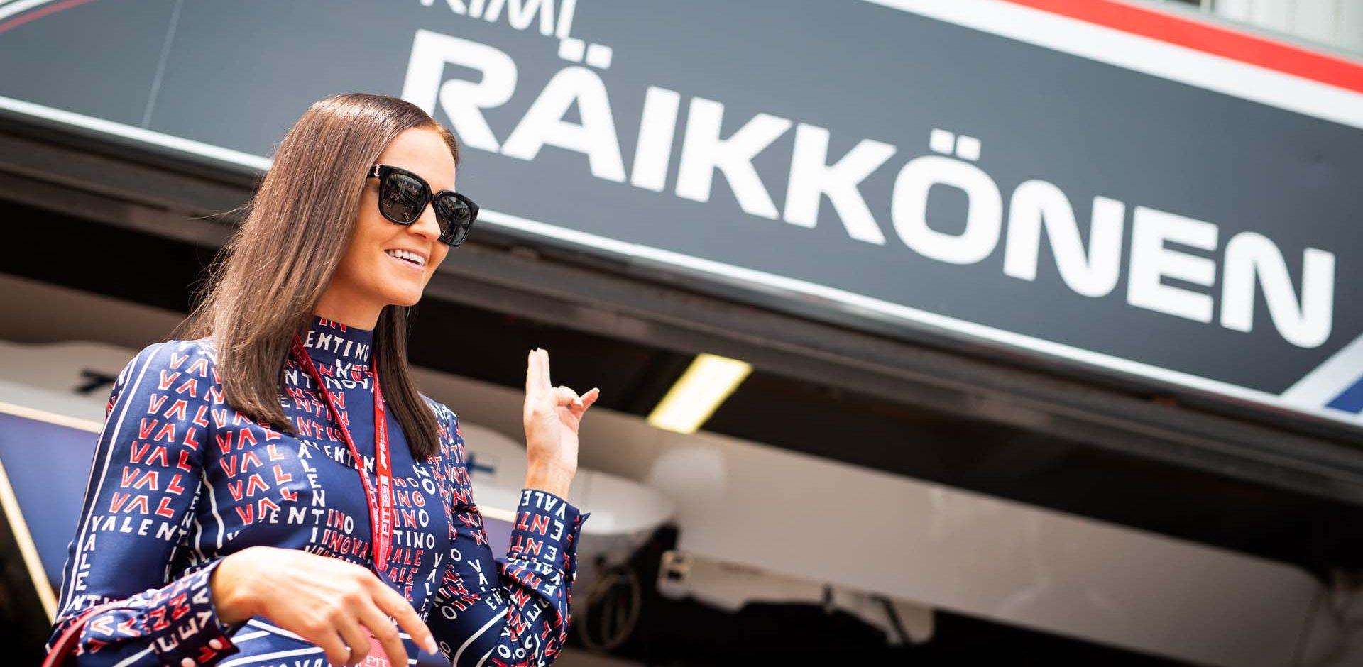 RAIKKONEN Minttu, wife of Kimi, portrait during the 2019 Formula One World Championship, Grand Prix of Monaco from on May 23 to 26 in Monaco - Photo Antonin Vincent / DPPI Räikkönen