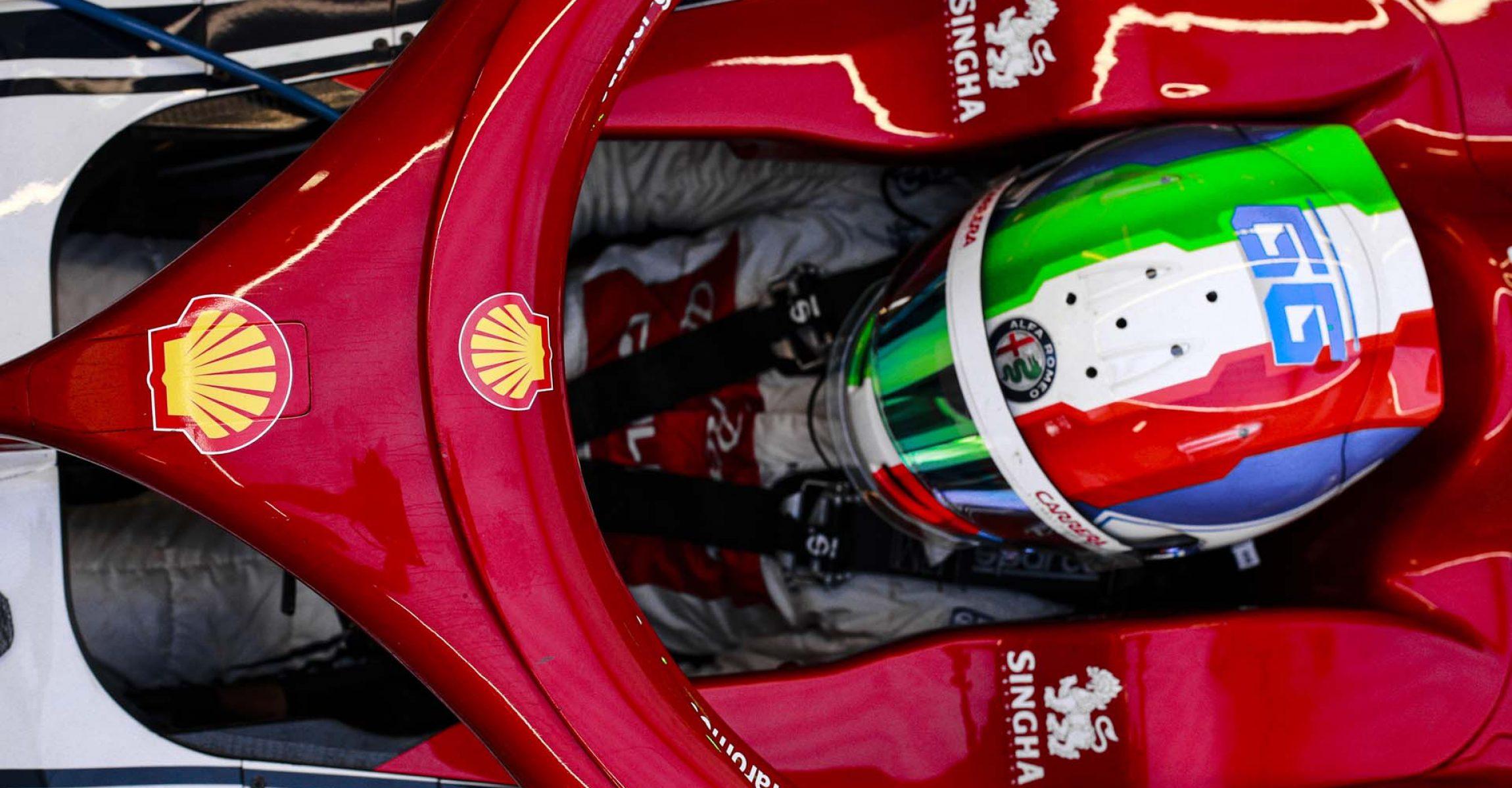 GIOVINAZZI Antonio (ita), Alfa Romeo Racing C38, portrait during the 2019 Formula One World Championship, Russia Grand Prix from September 26 to 29 in Sotchi, Russia - Photo Xavi Bonilla / DPPI