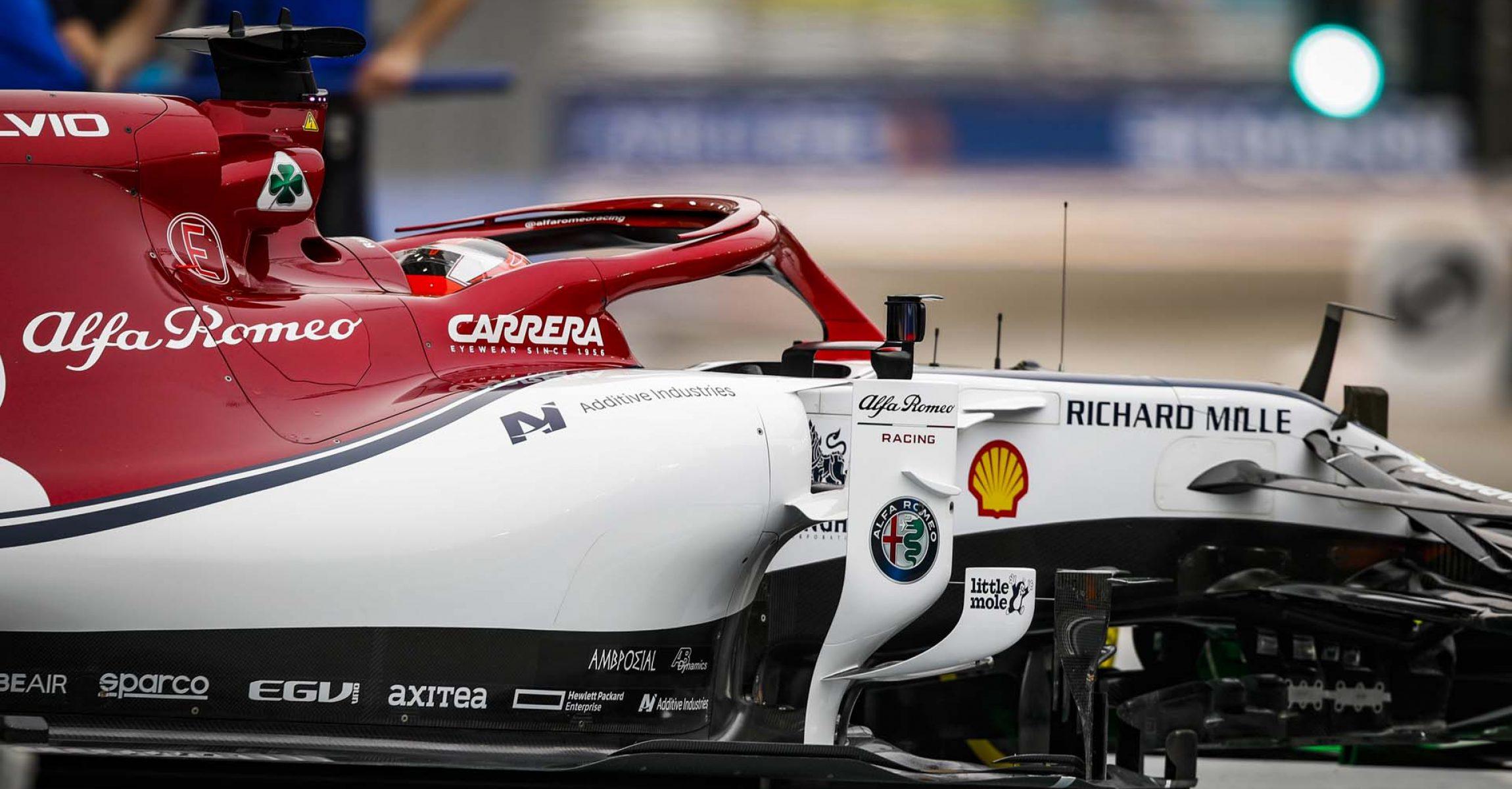RAIKKONEN Kimi Räikkönen (fin), Alfa Romeo Racing C38, action during the 2019 Formula One World Championship, Singapore Grand Prix from September 19 to 22 in Singapour - Photo Florent Gooden / DPPI