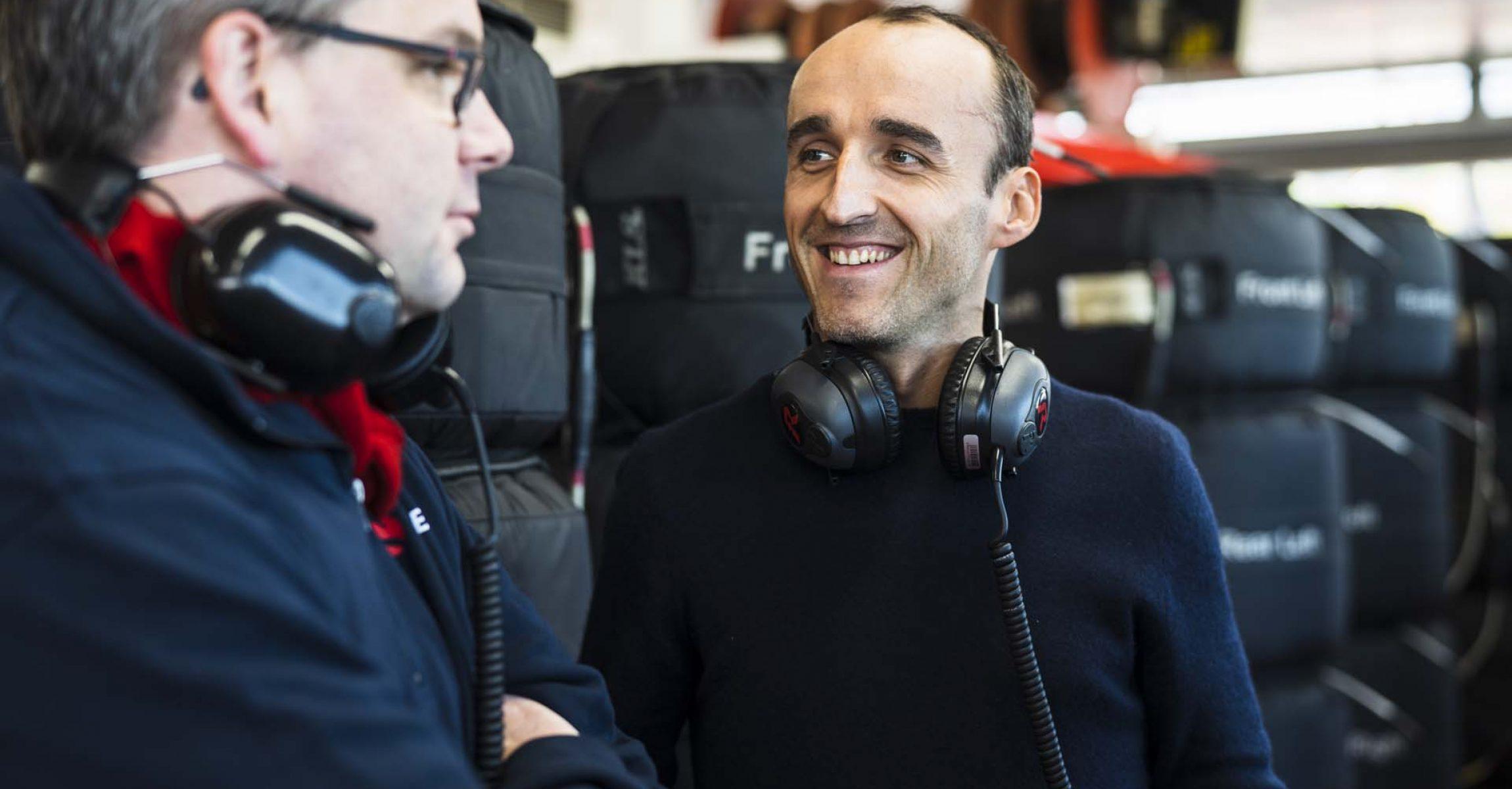 Robert Kubica Alfa Romeo