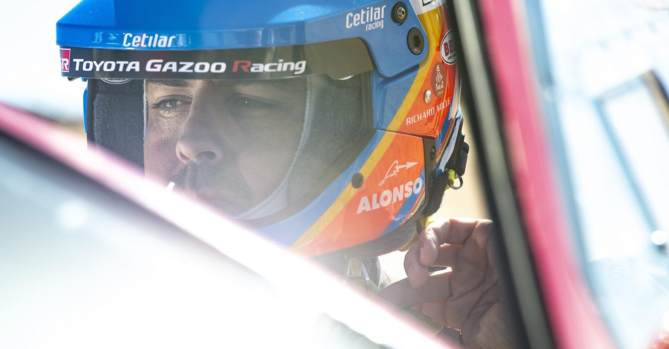 Alonso Fernando (esp), Toyota Gazoo Ragin, Auto, Car, portrait during Stage 1 of the Dakar 2020 between Jeddah and Al Wajh, 752 km - SS 319km, in Saudi Arabia, on January 5, 2020 - Photo Charly Lopez