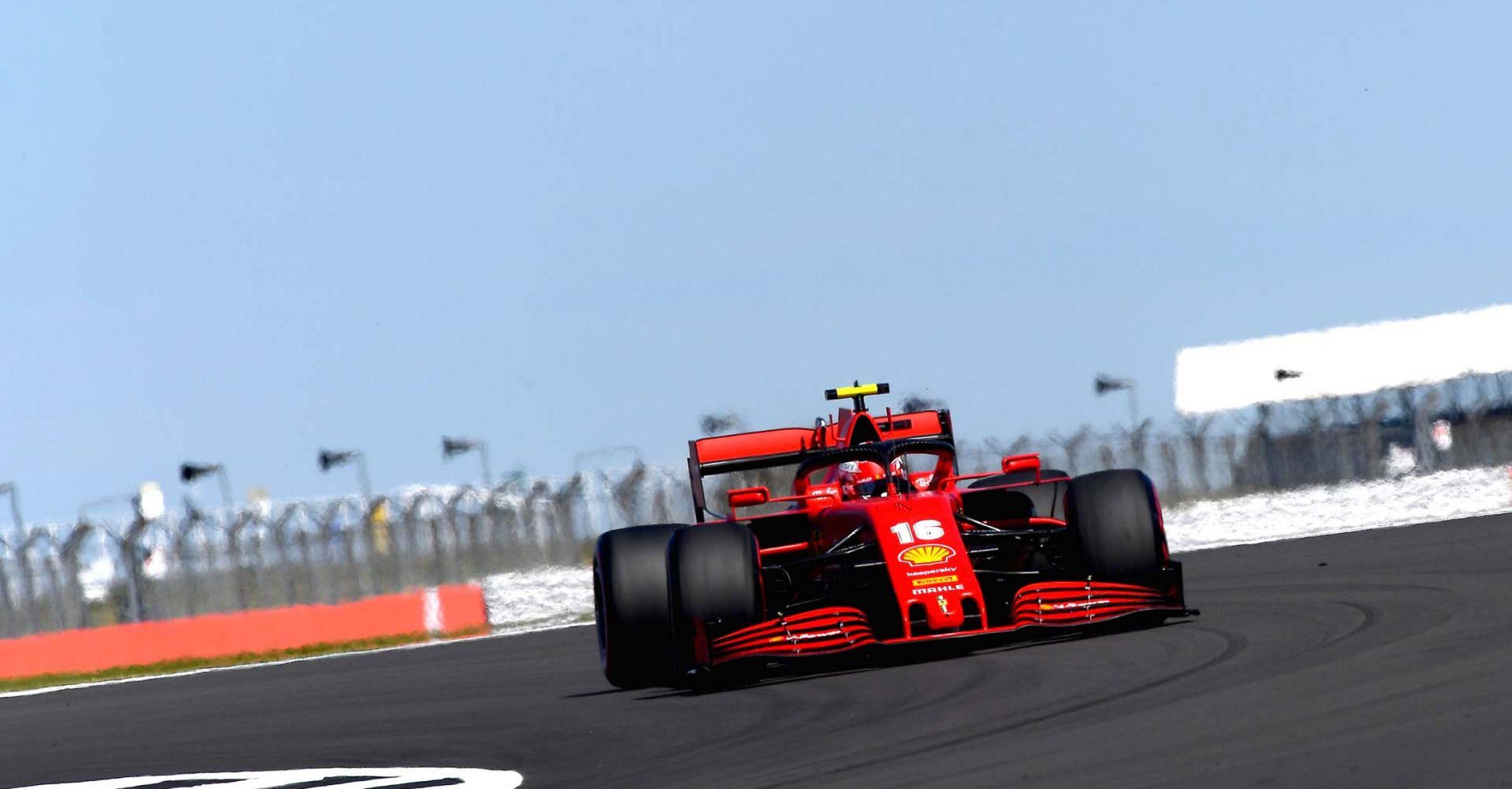 GP 70MO ANNIVERSARIO  F1/2020 -  VENERDÌ 07/08/2020    credit: @Scuderia Ferrari Press Office Charles Leclerc