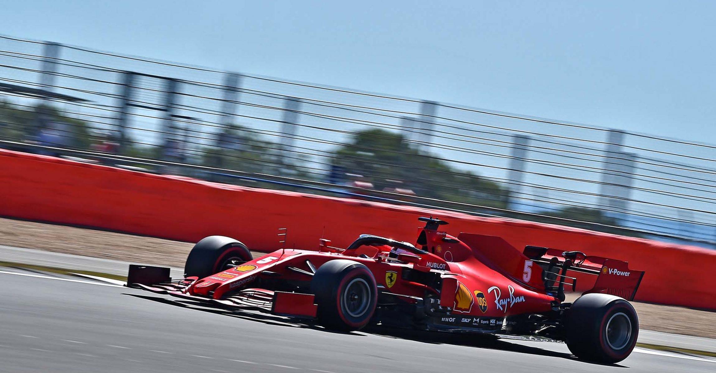 GP 70MO ANNIVERSARIO  F1/2020 -  VENERDÌ 07/08/2020    credit: @Scuderia Ferrari Press Office Sebastian Vettel