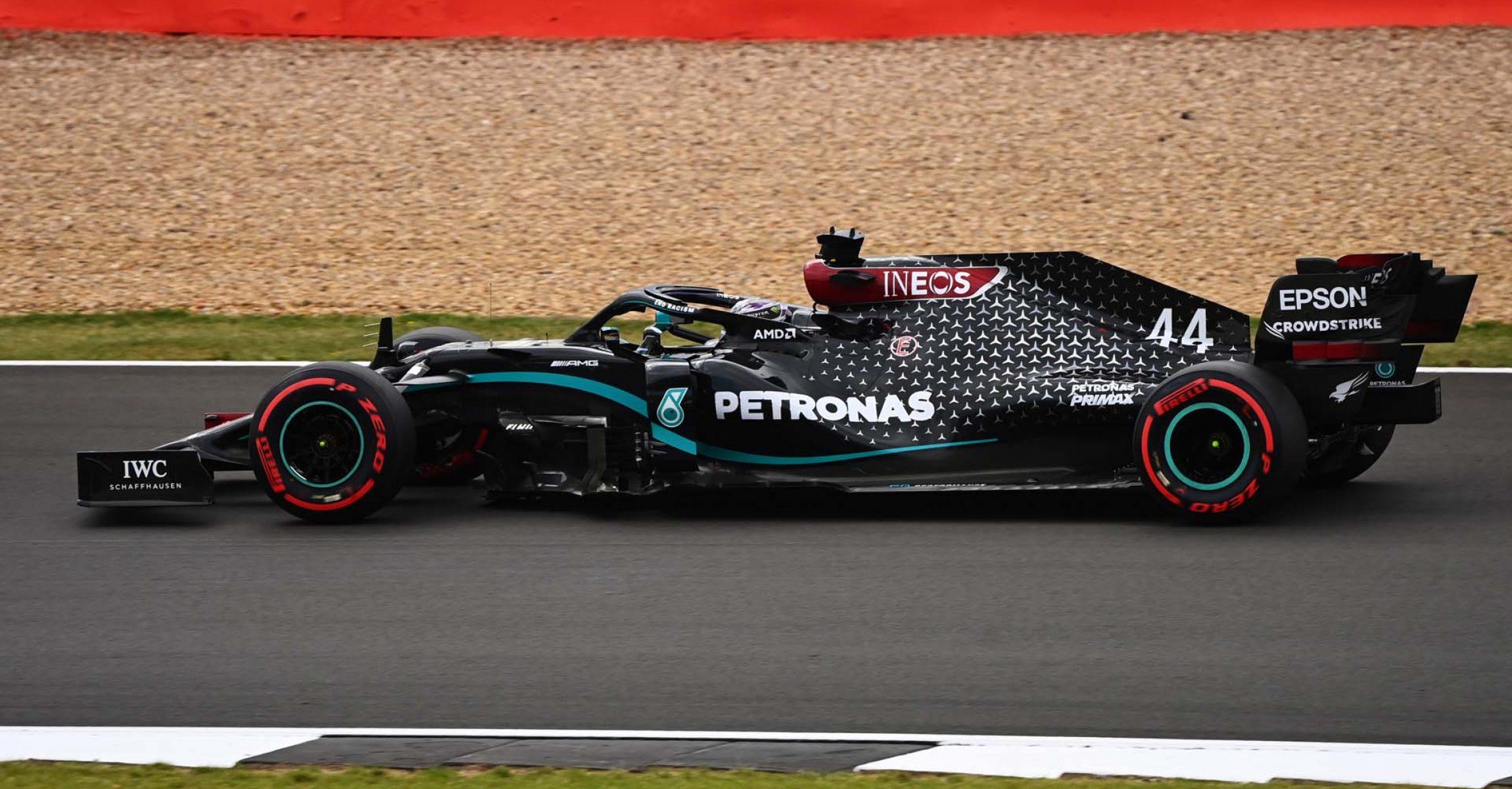 2020 70th Anniversary Grand Prix, Friday - LAT Images Lewis Hamilton Mercedes