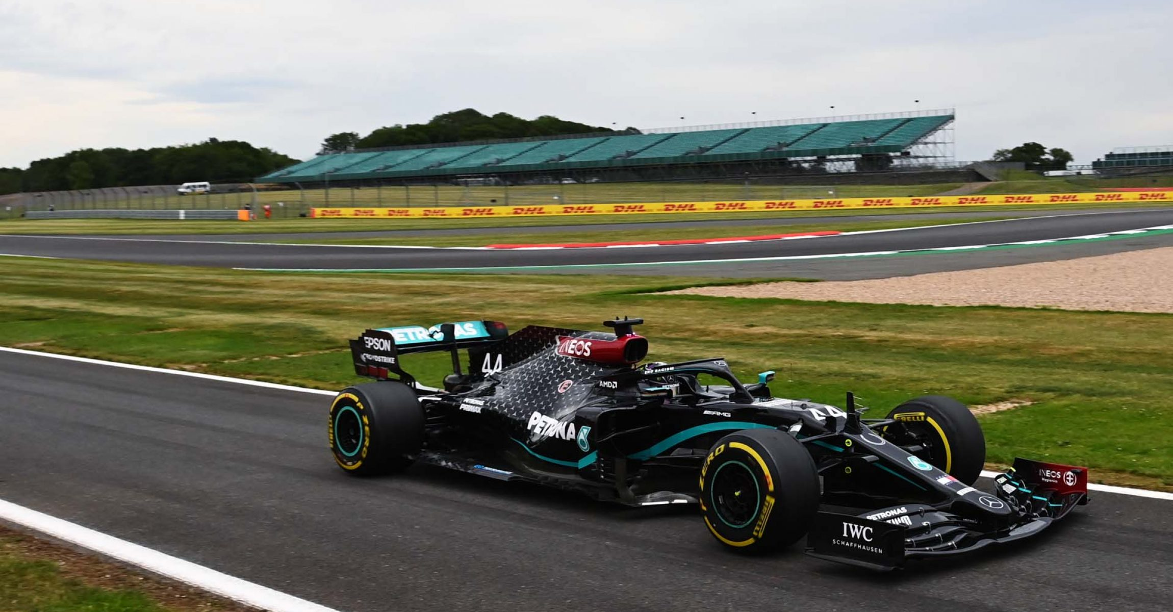 2020 70th Anniversary Grand Prix, Friday - LAT Images Lewis Hamilton Mercedes