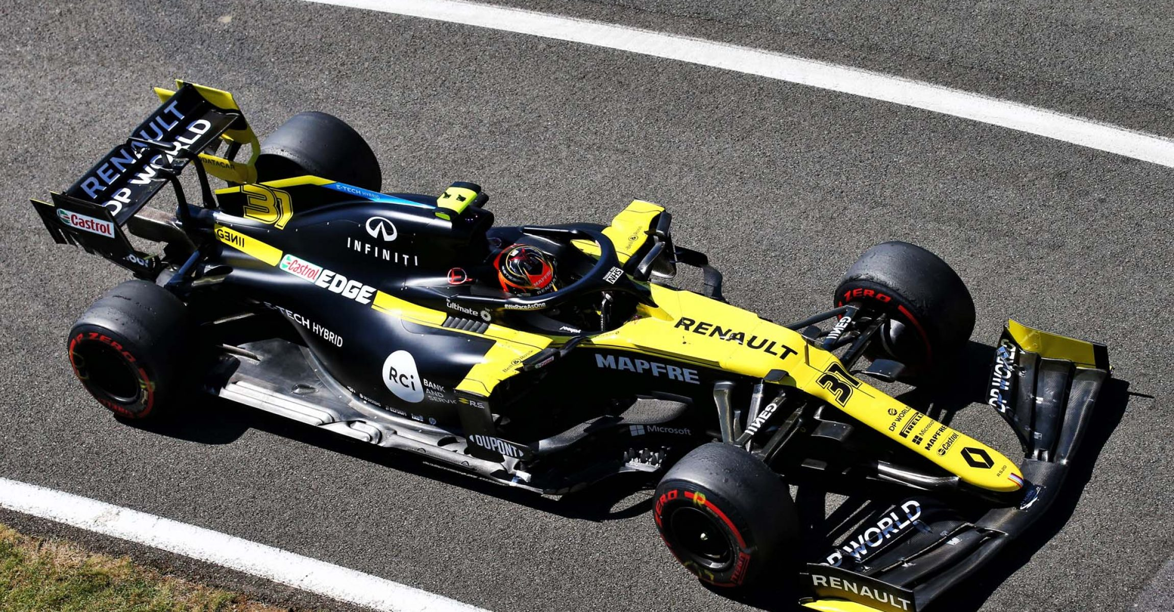 Esteban Ocon (FRA) Renault F1 Team RS20. 70th Anniversary Grand Prix, Friday 7th August 2020. Silverstone, England.