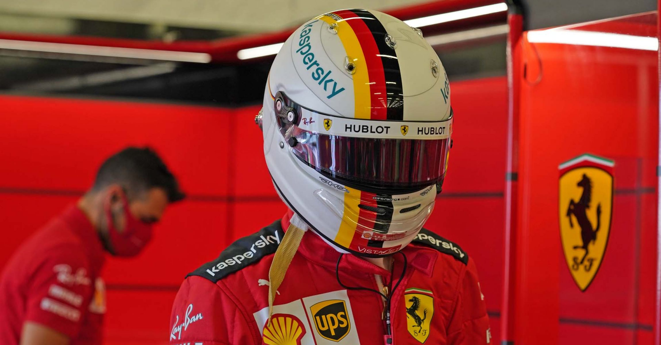 GP 70MO ANNIVERSARIO  F1/2020 -  SABATO 08/08/2020  credit: @Scuderia Ferrari Press Office Sebastian Vettel