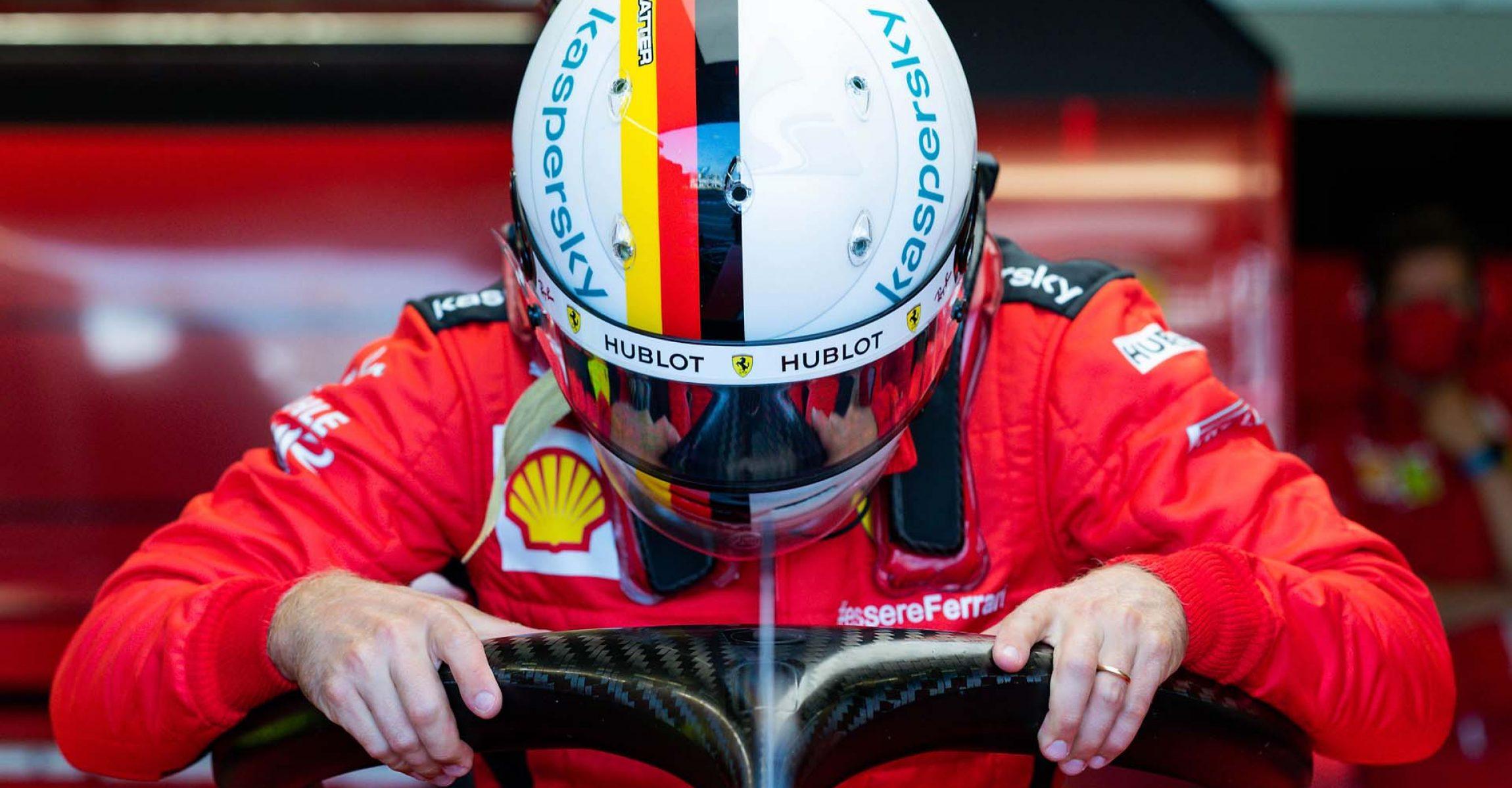 GP 70MO ANNIVERSARIO  F1/2020 -  SABATO 08/08/2020  credit: @Scuderia Ferrari Press Office Sebastian Vettel