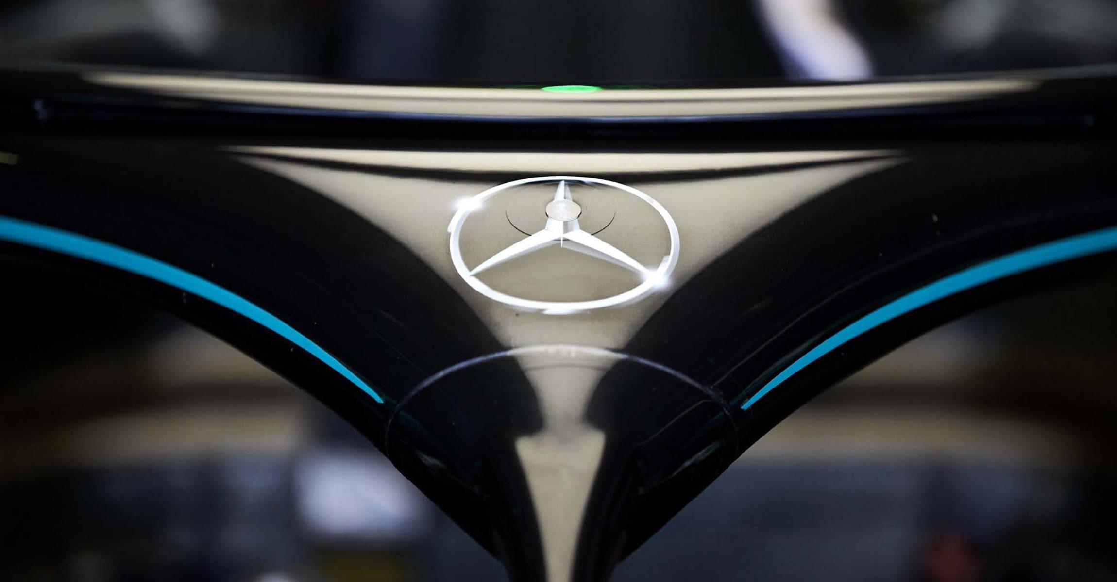 2020 70th Anniversary Grand Prix, Saturday - Steve Etherington Merceds logo Halo