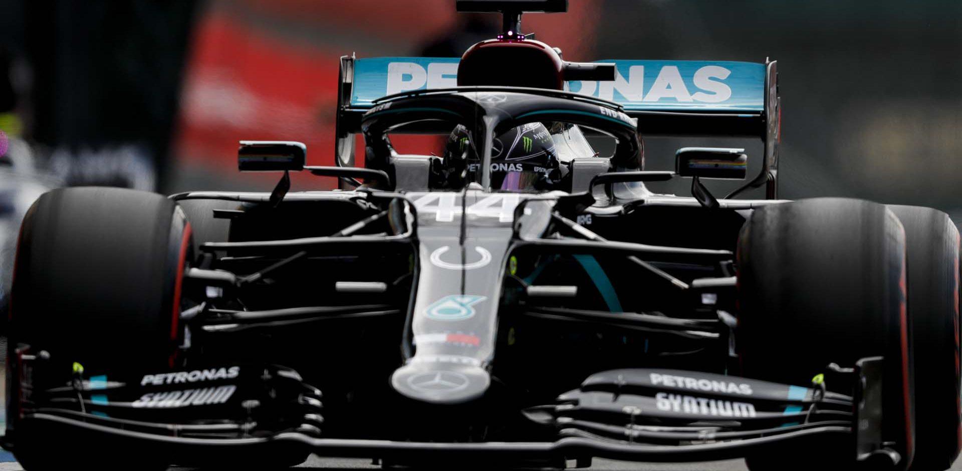 2020 70th Anniversary Grand Prix, Saturday - LAT Images Lewis Hamilton Mercedes