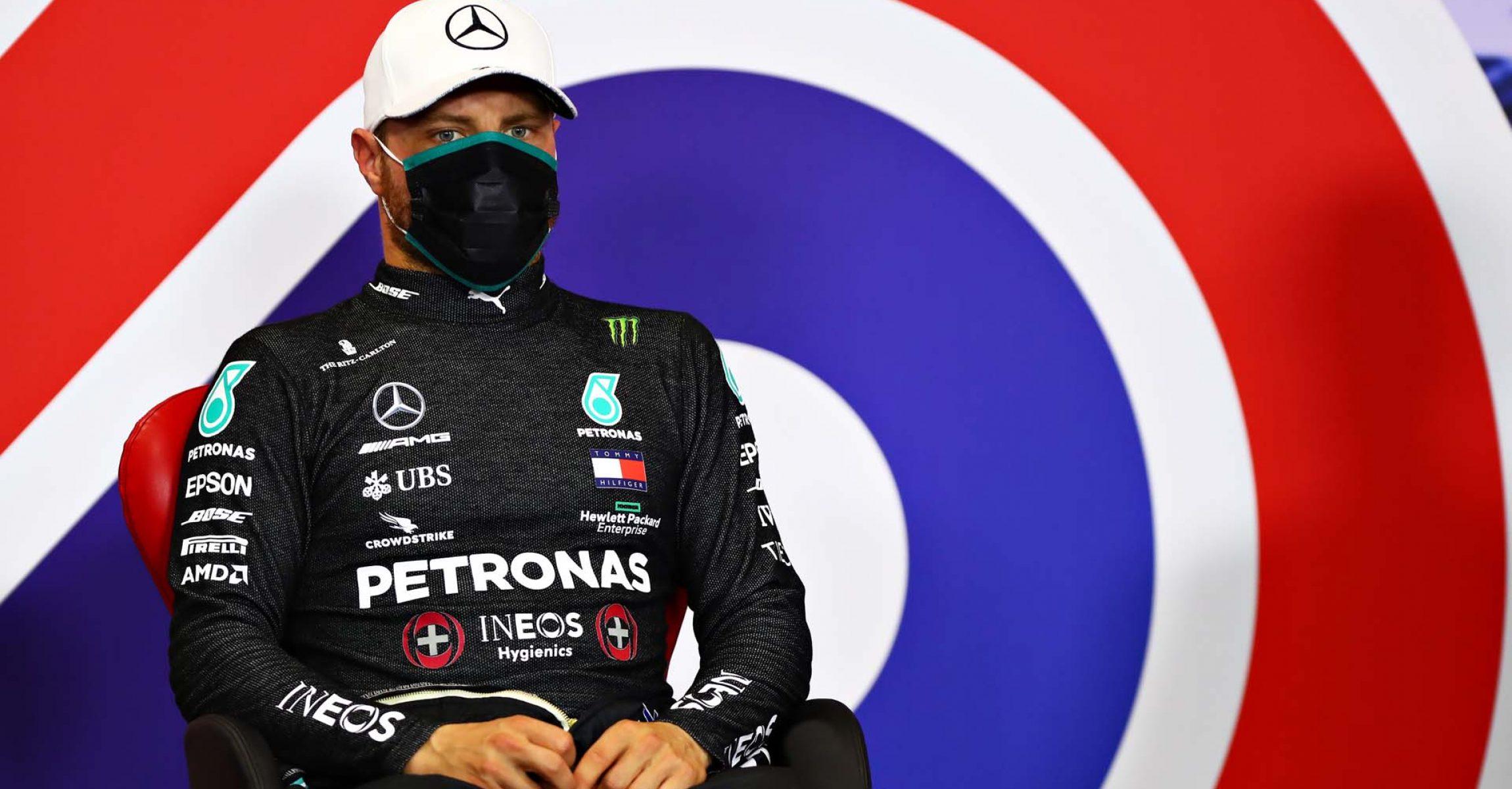 2020 70th Anniversary Grand Prix, Saturday - LAT Images Valtteri Bottas Mercedes