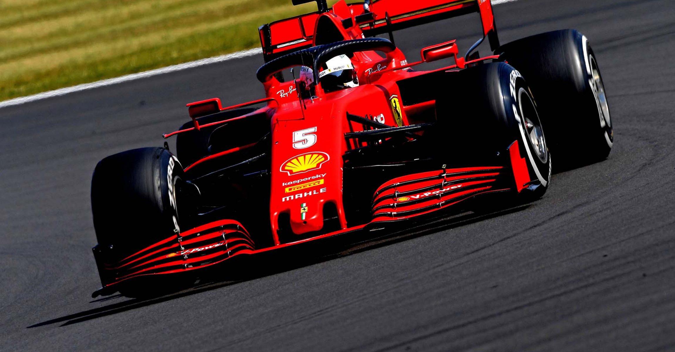 GP 70MO ANNIVERSARIO  F1/2020 -  DOMENICA 09/08/2020  credit: @Scuderia Ferrari Press Office Sebastian Vettel