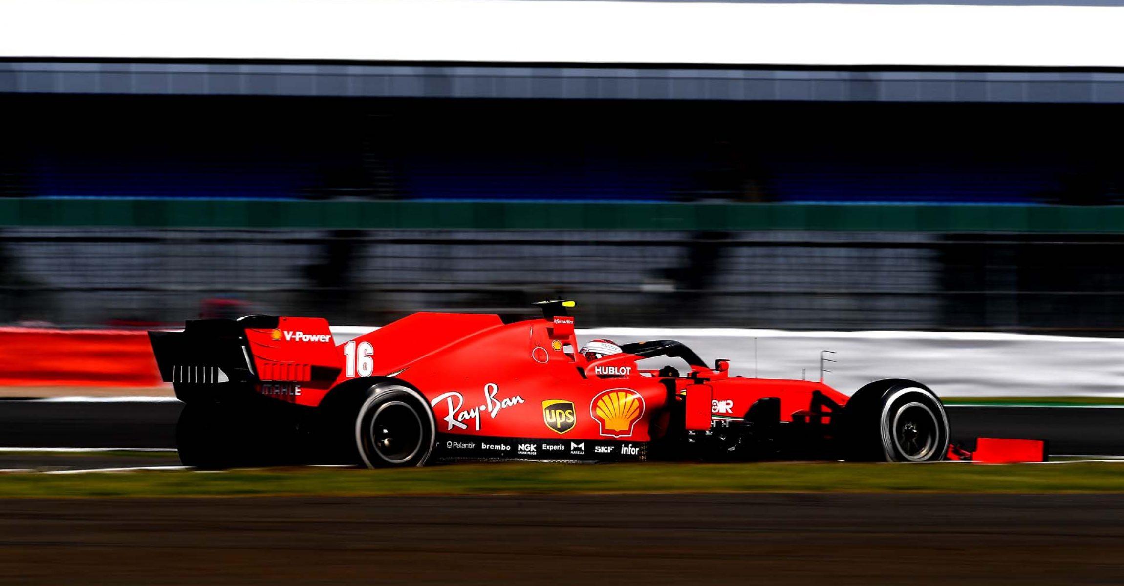 GP 70MO ANNIVERSARIO  F1/2020 -  DOMENICA 09/08/2020  credit: @Scuderia Ferrari Press Office Charles Leclerc