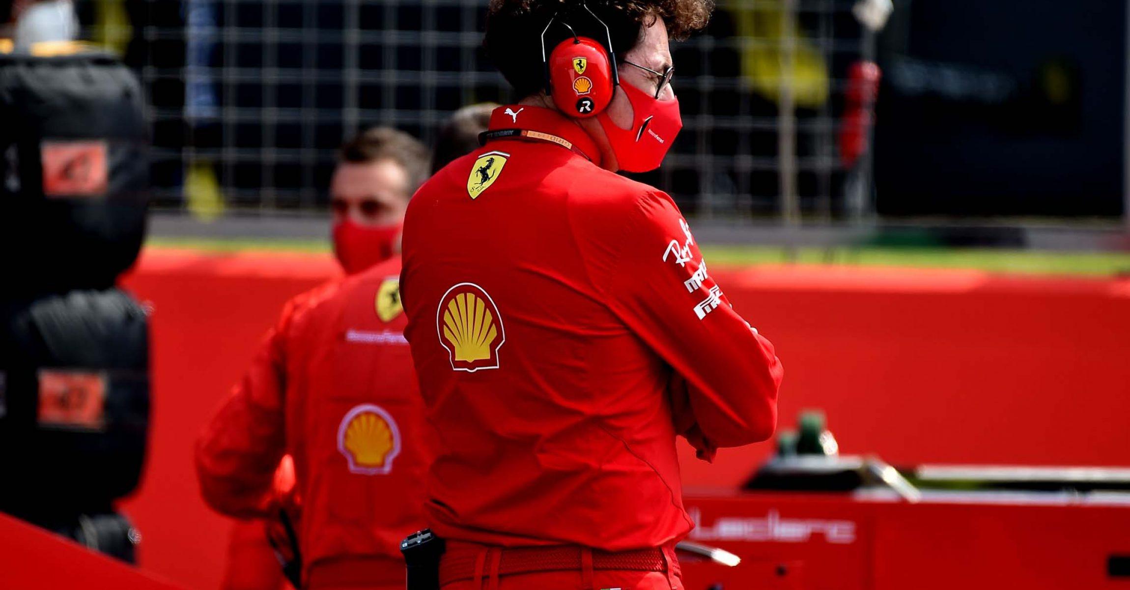 GP 70MO ANNIVERSARIO  F1/2020 -  DOMENICA 09/08/2020  credit: @Scuderia Ferrari Press Office Mattia Binotto