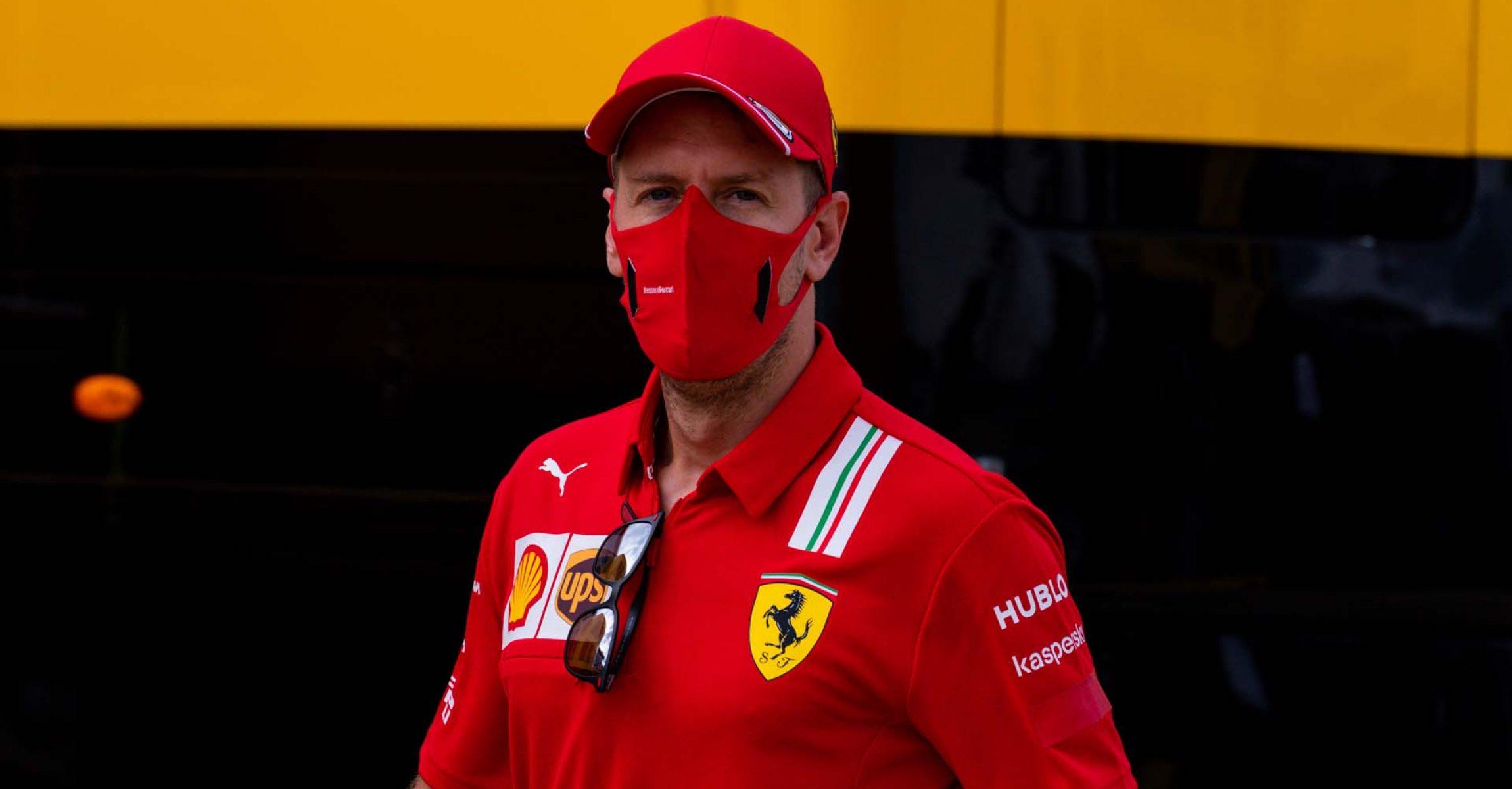 GP 70MO ANNIVERSARIO  F1/2020 -  GIOVEDÌ 06/08/2020  credit: @Scuderia Ferrari Press Office Sebastian Vettel