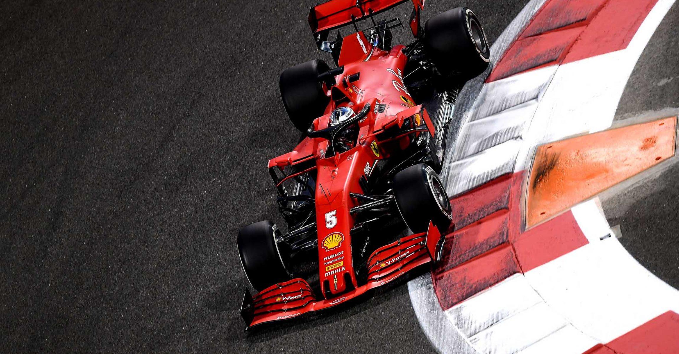 GP ABU DHABI  F1/2020 - VENERDÌ 11/12/2020   credit: @Scuderia Ferrari Press Office Sebastian Vettel