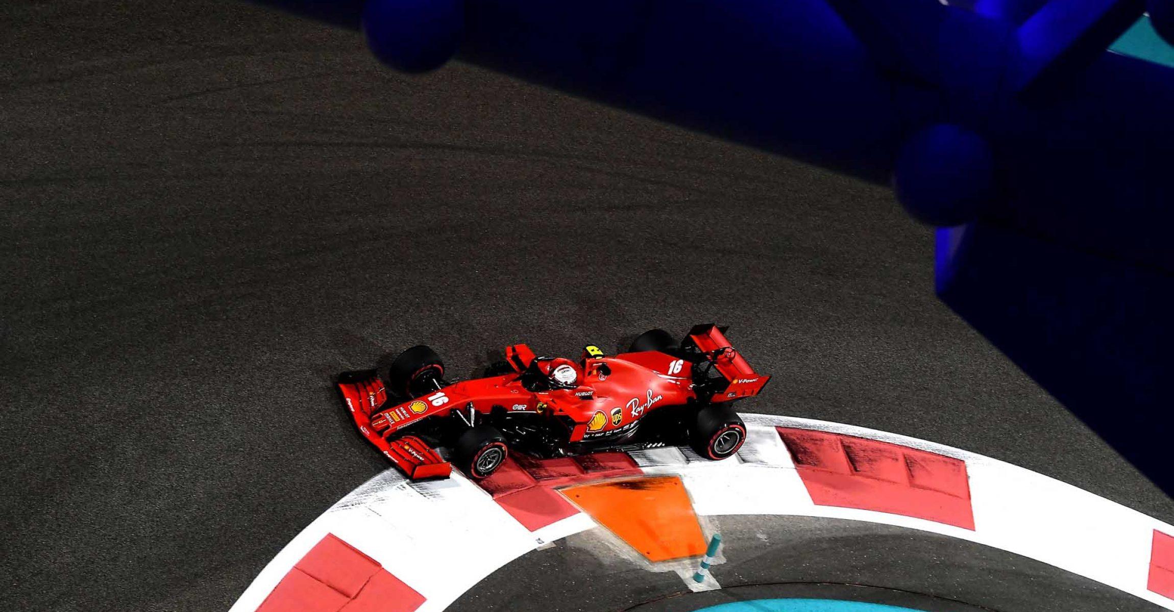 GP ABU DHABI  F1/2020 - VENERDÌ 11/12/2020   credit: @Scuderia Ferrari Press Office Charles Leclerc Ferrari