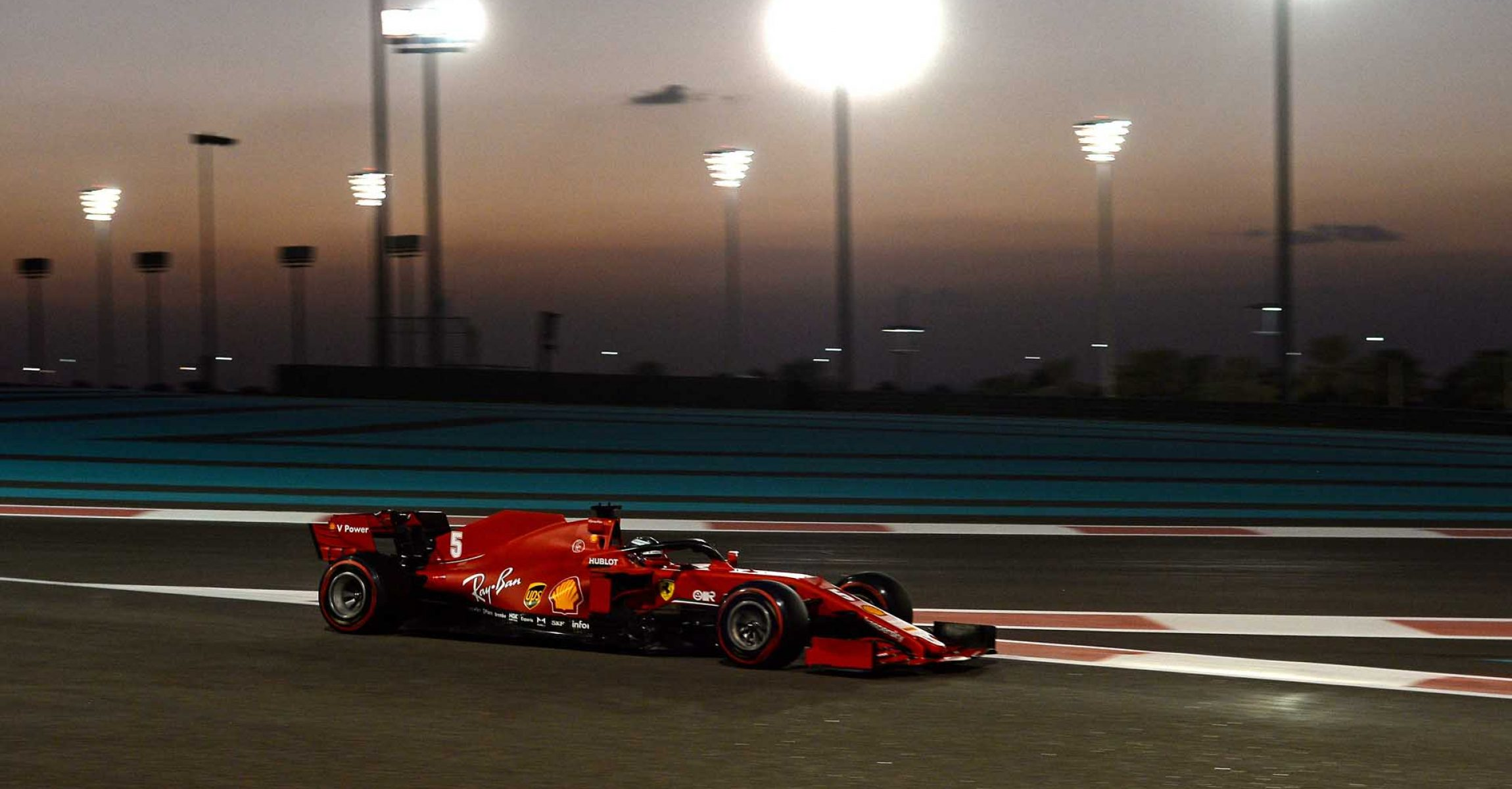 GP ABU DHABI  F1/2020 - VENERDÌ 11/12/2020   credit: @Scuderia Ferrari Press Office Sebastian Vettel