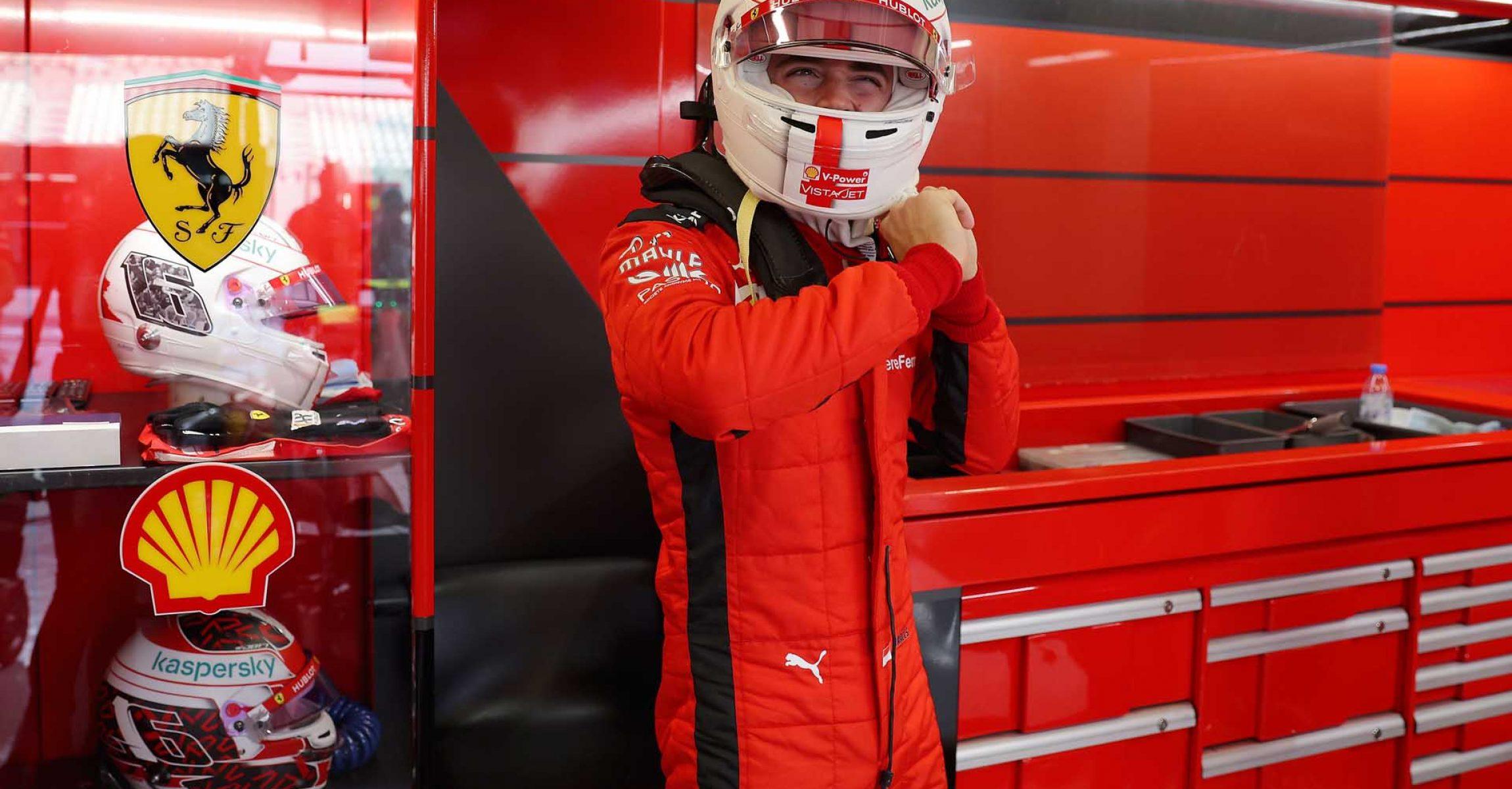 GP ABU DHABI  F1/2020 - VENERDÌ 11/12/2020   credit: @Scuderia Ferrari Press Office Charles Leclerc