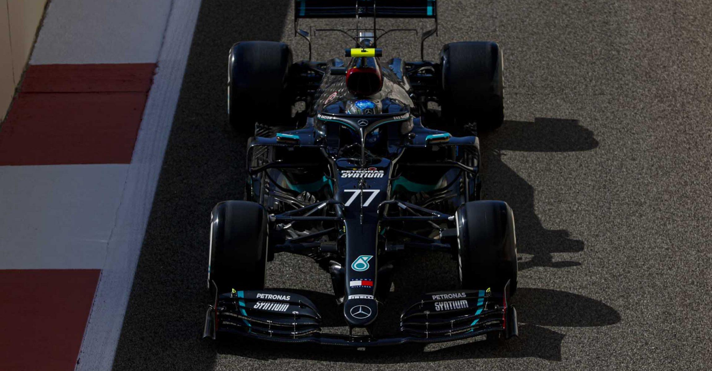 2020 Abu Dhabi Grand Prix, Friday - LAT Images Valtteri Bottas Mercedes