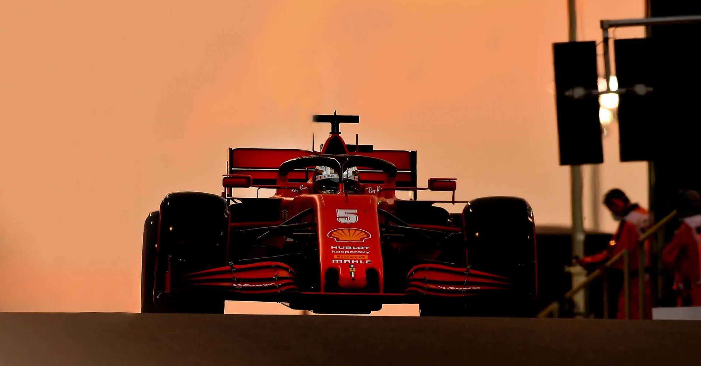 GP ABU DHABI  F1/2020 - SABATO 12/12/2020   credit: @Scuderia Ferrari Press Office Sebastian Vettel