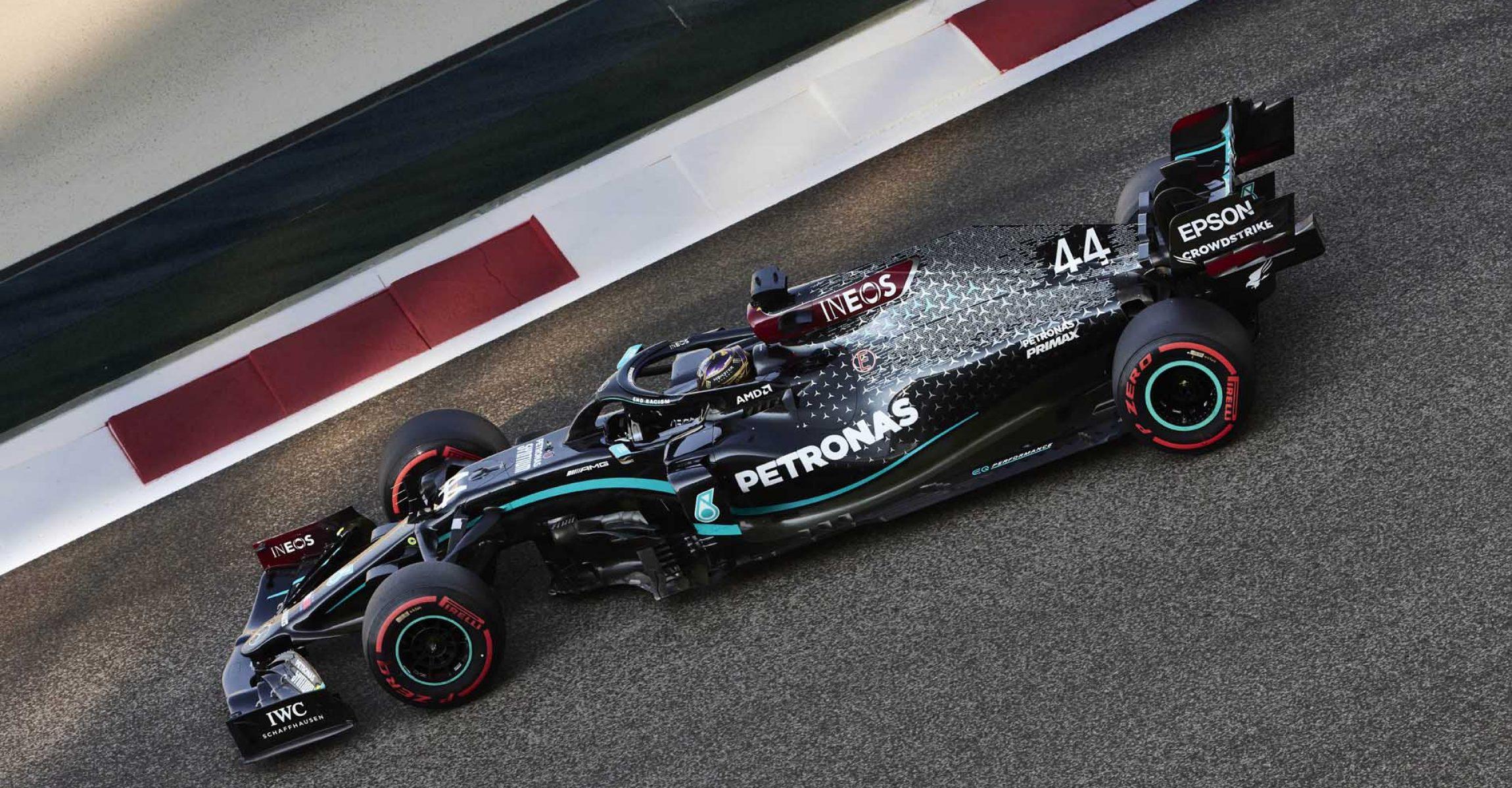 2020 Abu Dhabi Grand Prix, Saturday - Steve Etherington Lewis Hamilton Mercedes