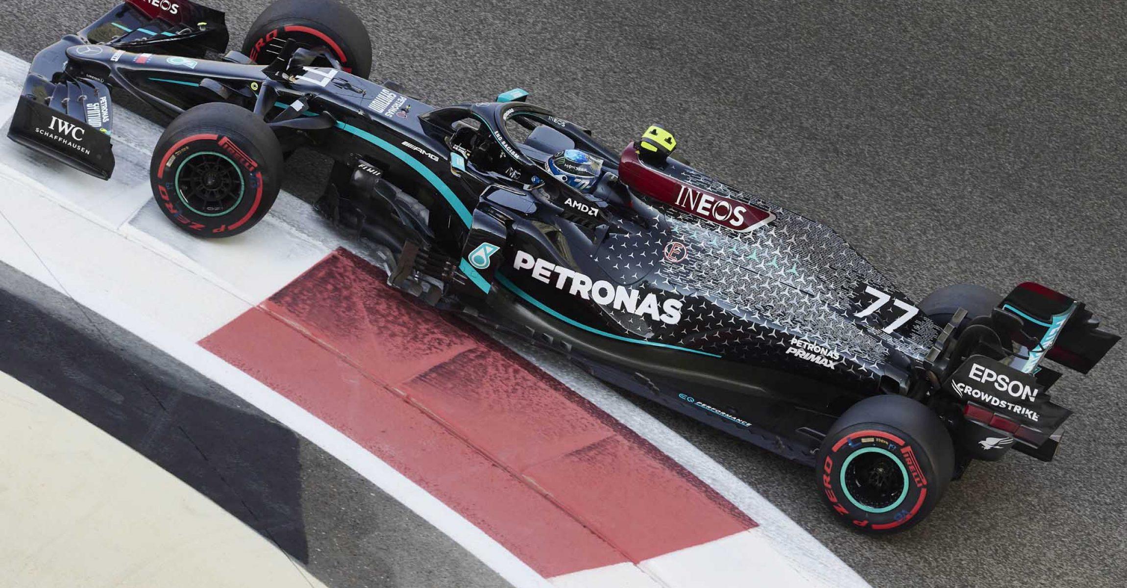 2020 Abu Dhabi Grand Prix, Saturday - Steve Etherington Valtteri Bottas Mercedes